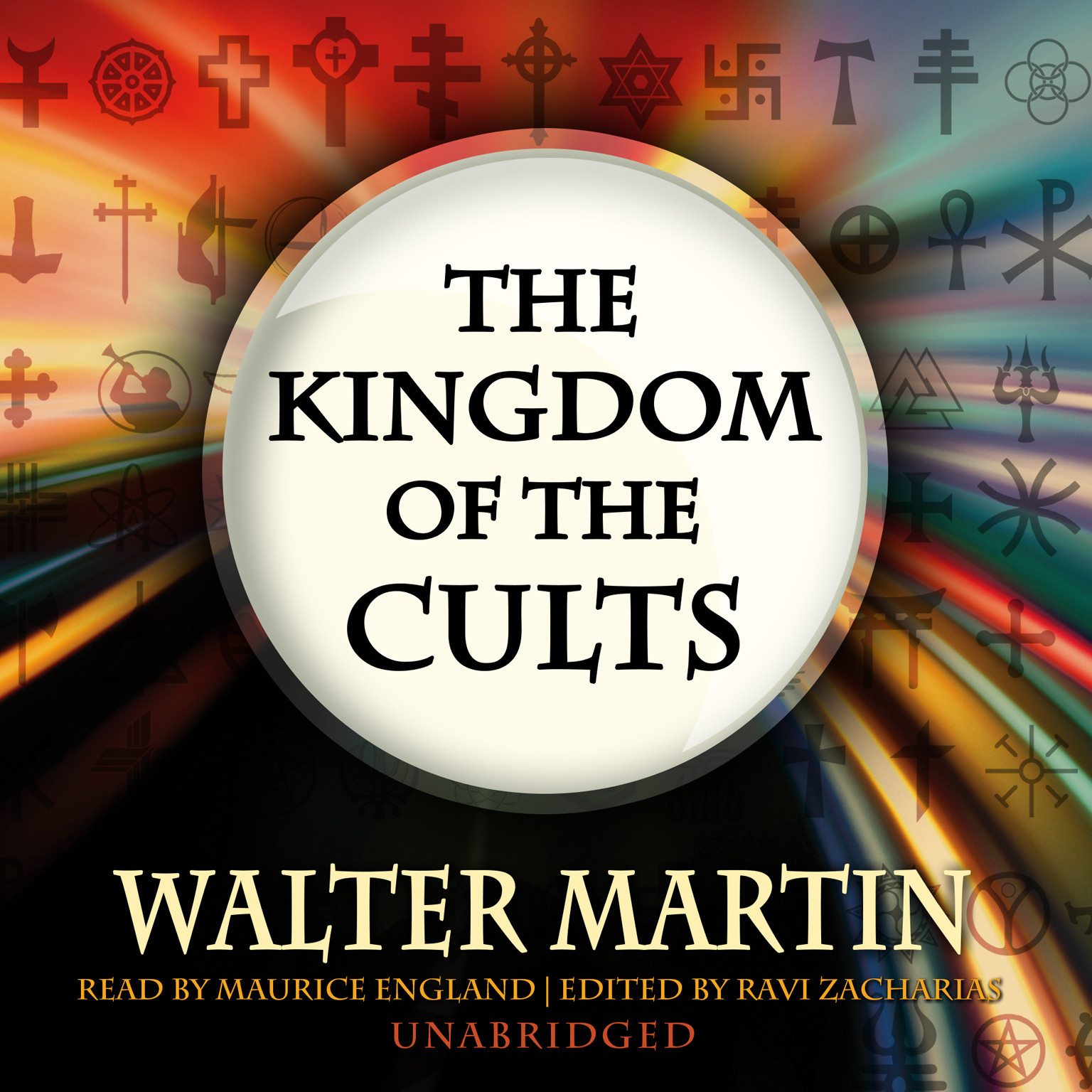 Printable The Kingdom of the Cults Audiobook Cover Art