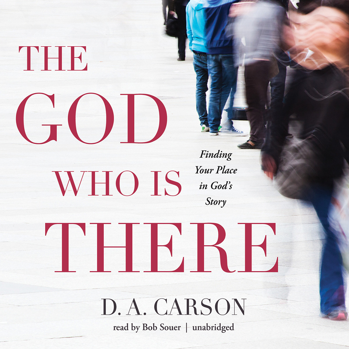 Printable The God Who Is There: Finding Your Place in God's Story Audiobook Cover Art