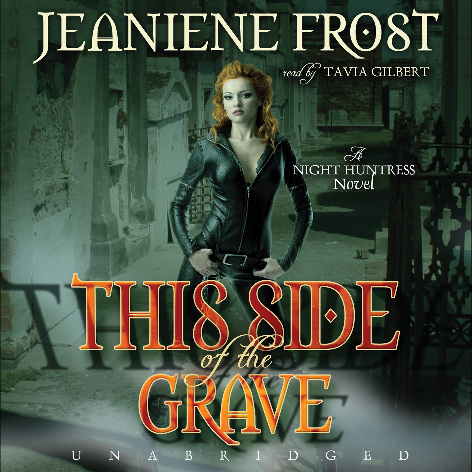 Printable This Side of the Grave: A Night Huntress Novel Audiobook Cover Art