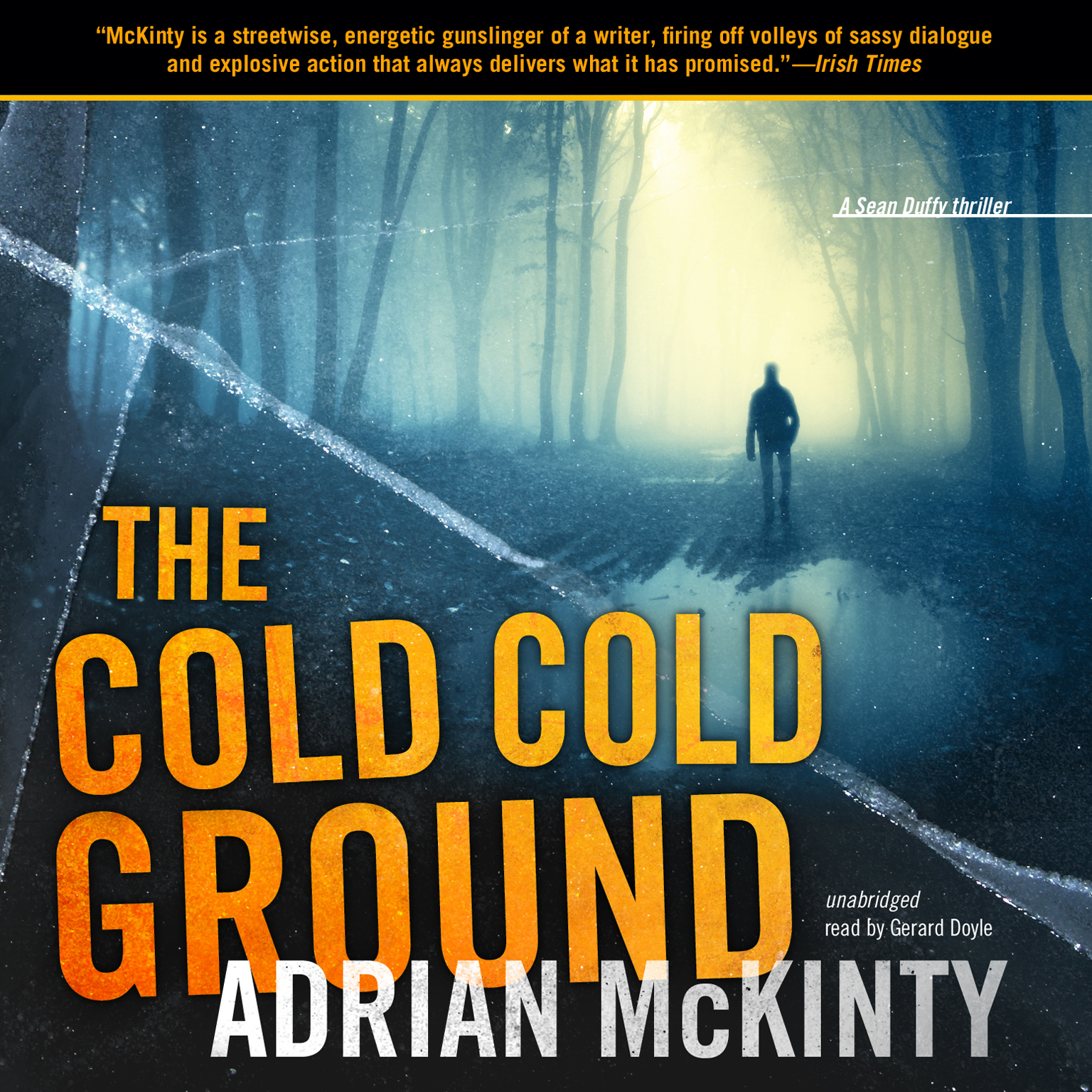 Printable The Cold Cold Ground Audiobook Cover Art