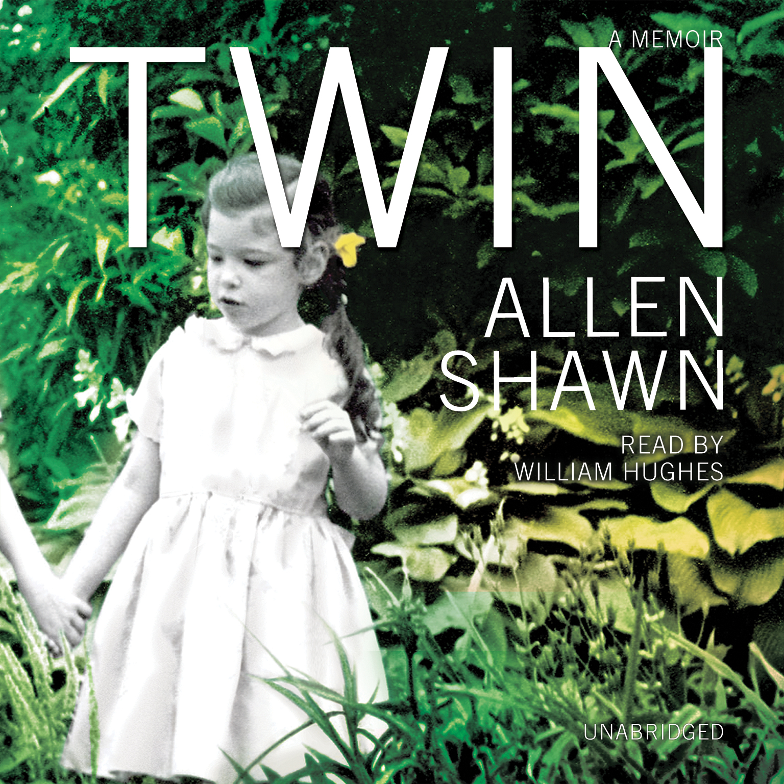 Printable Twin: A Memoir Audiobook Cover Art