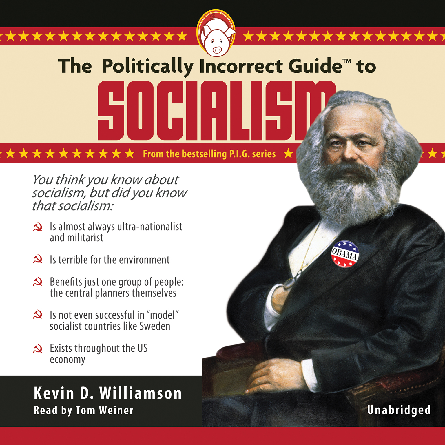 Printable The Politically Incorrect Guide to Socialism Audiobook Cover Art