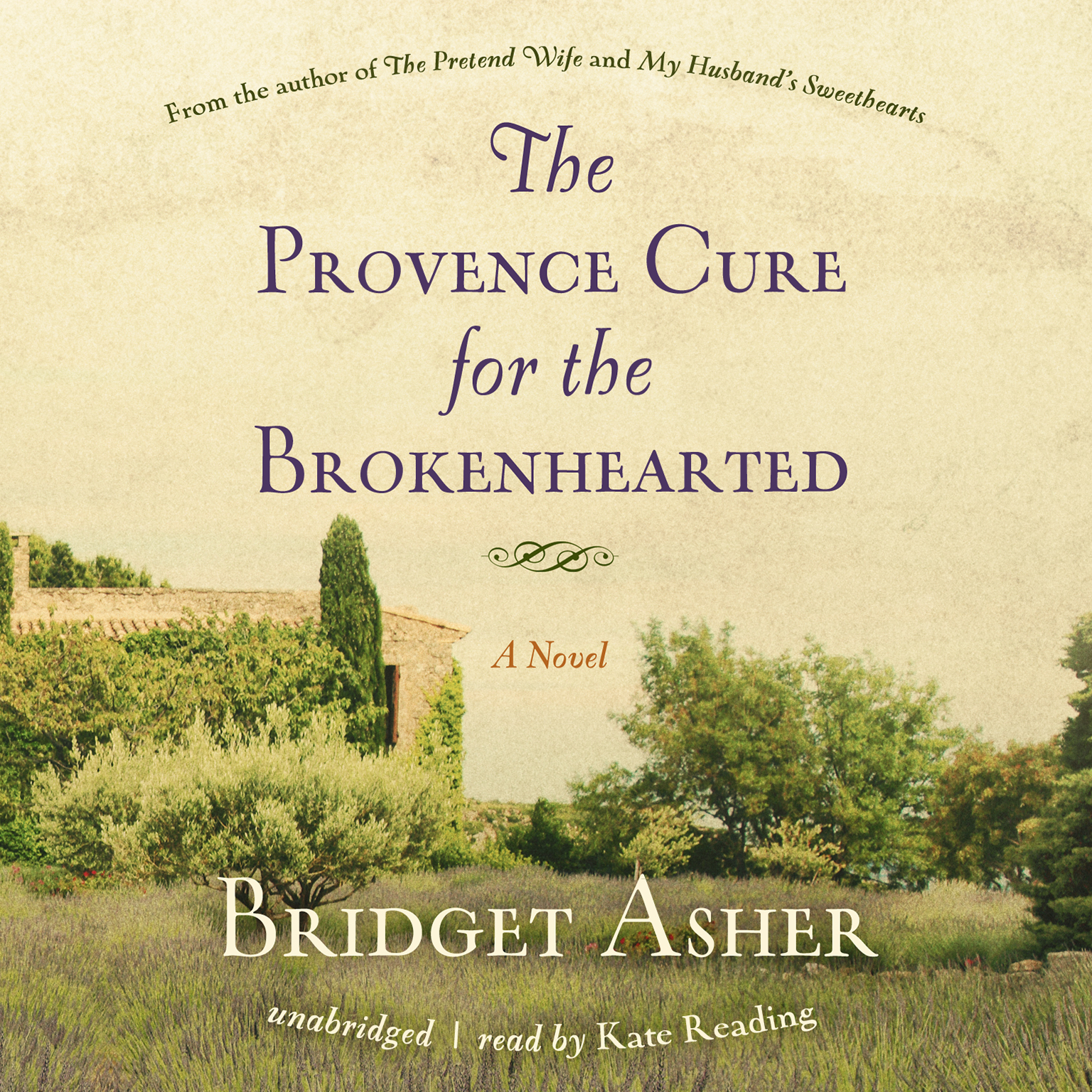 Printable The Provence Cure for the Brokenhearted: A Novel Audiobook Cover Art