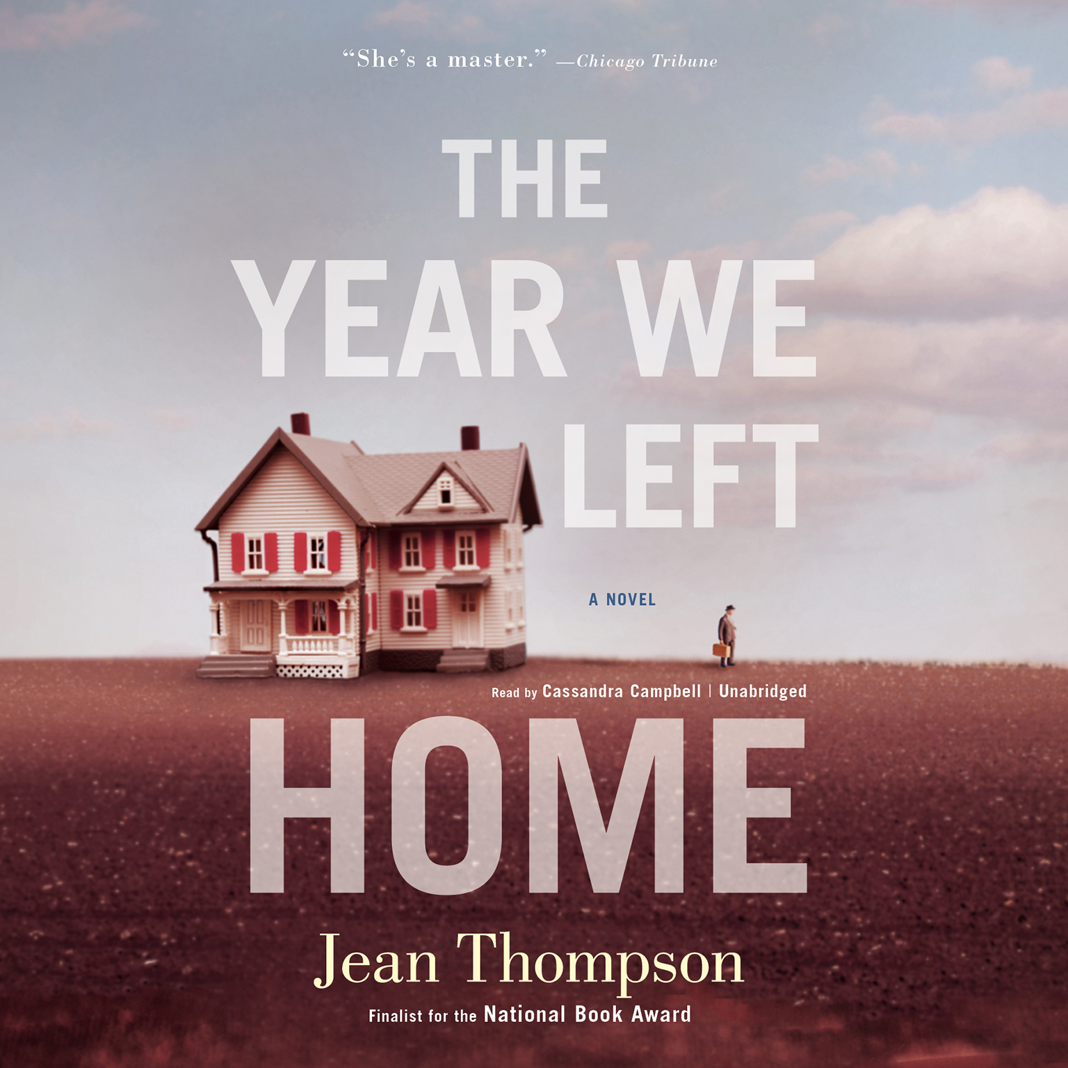 Printable The Year We Left Home Audiobook Cover Art
