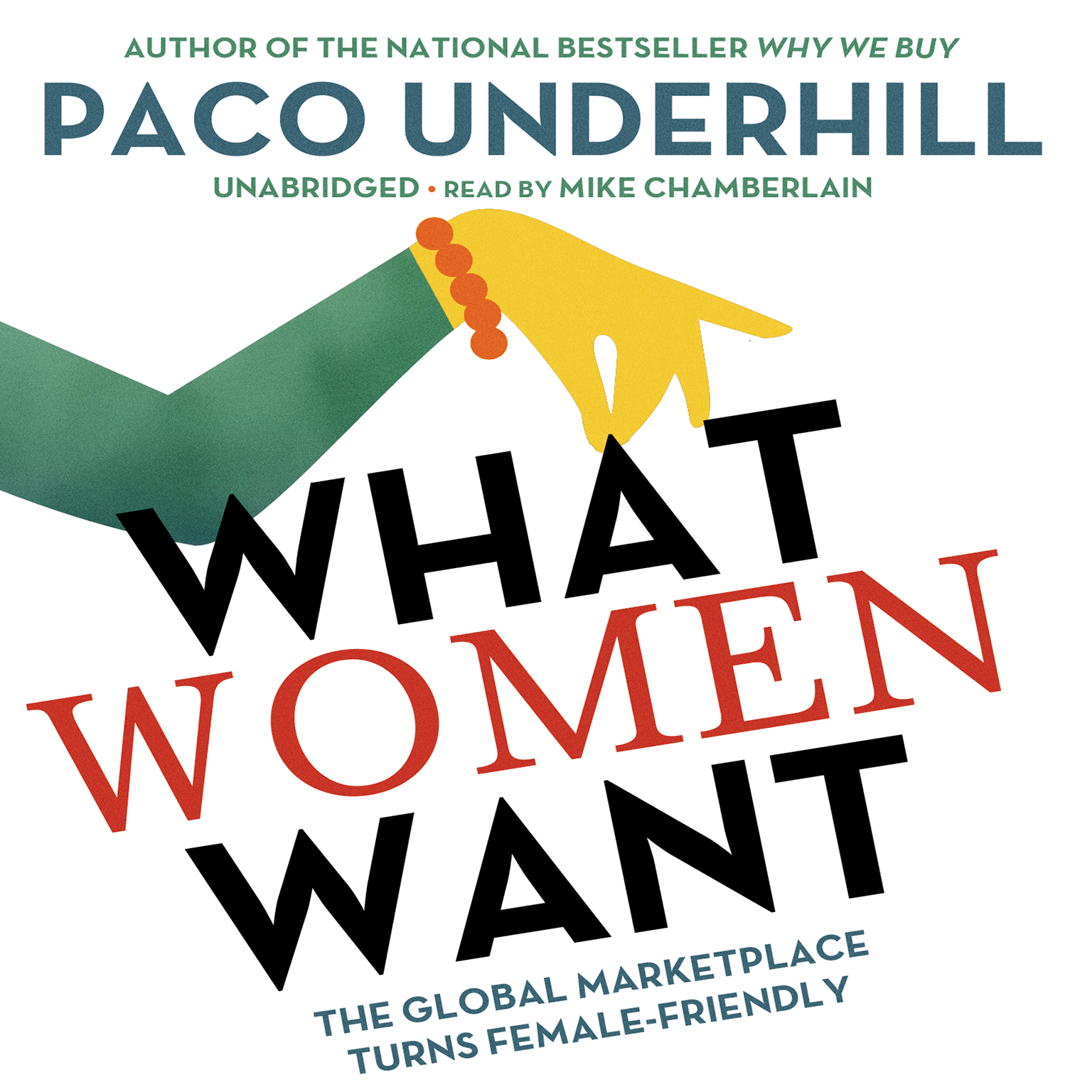 Printable What Women Want: The Global Marketplace Turns Female-Friendly Audiobook Cover Art