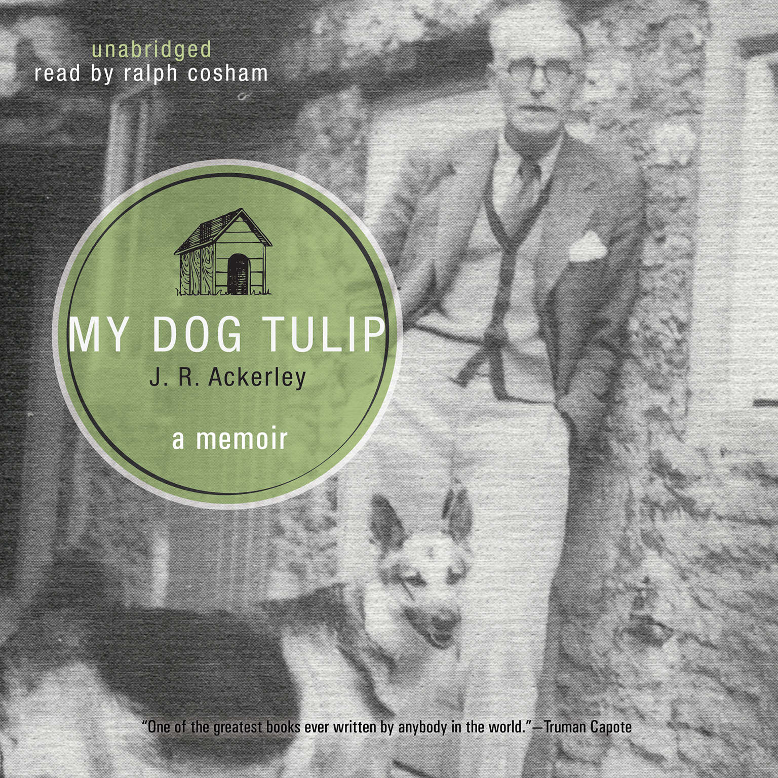 Printable My Dog Tulip Audiobook Cover Art