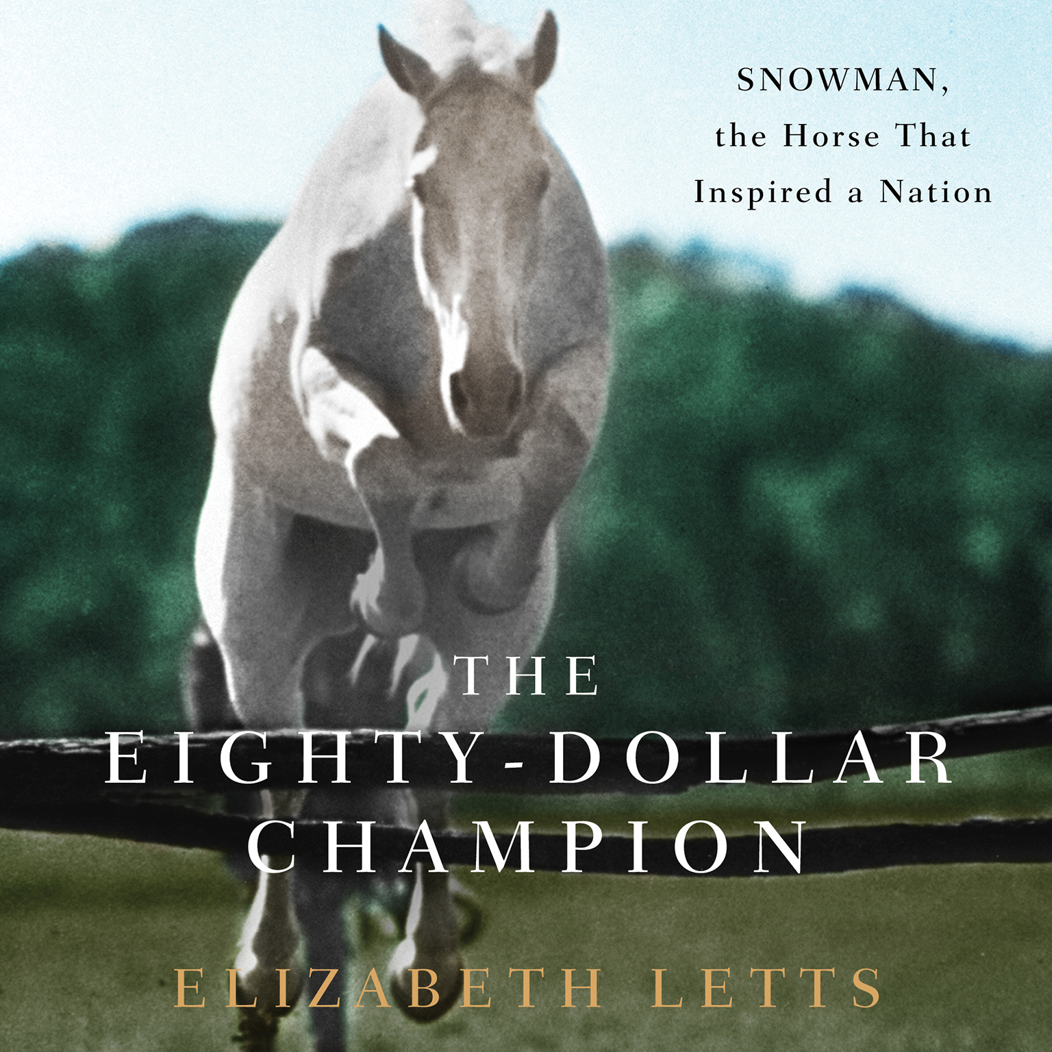 Printable The Eighty-Dollar Champion: Snowman, the Horse That Inspired a Nation Audiobook Cover Art
