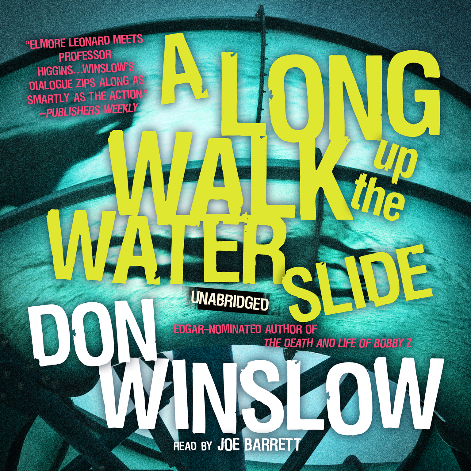 Printable A Long Walk up the Water Slide Audiobook Cover Art