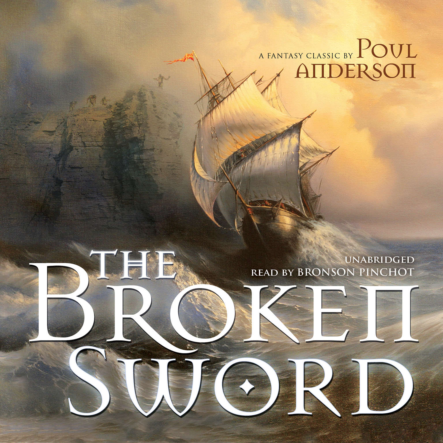 Printable The Broken Sword Audiobook Cover Art