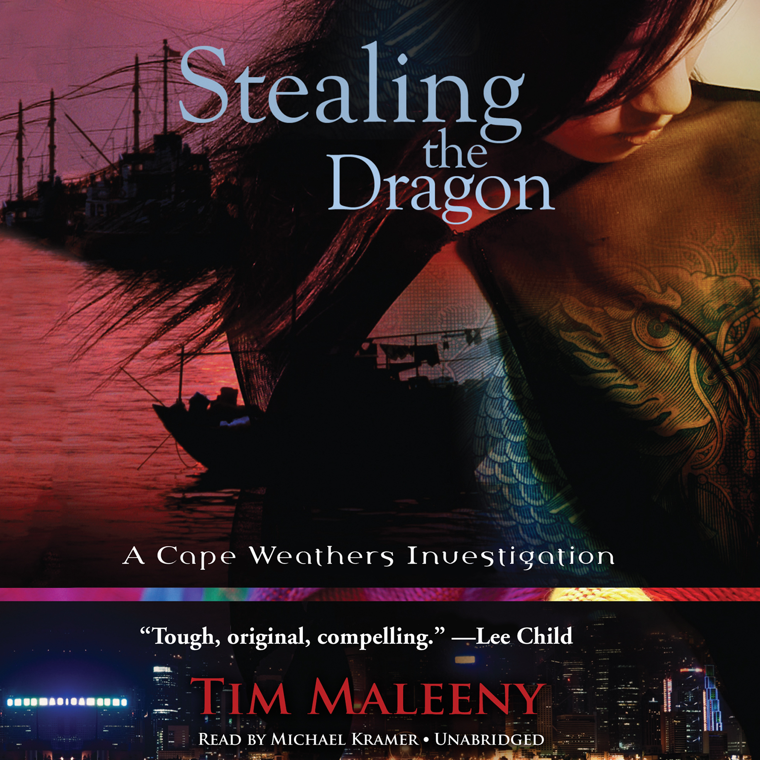 Printable Stealing the Dragon: A Cape Weathers Investigation Audiobook Cover Art