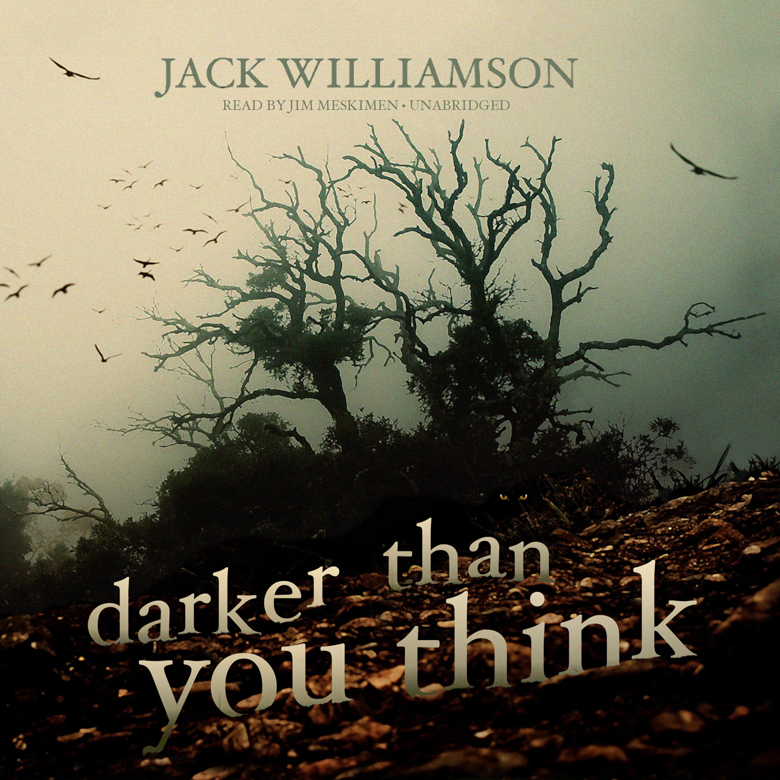 Printable Darker Than You Think Audiobook Cover Art