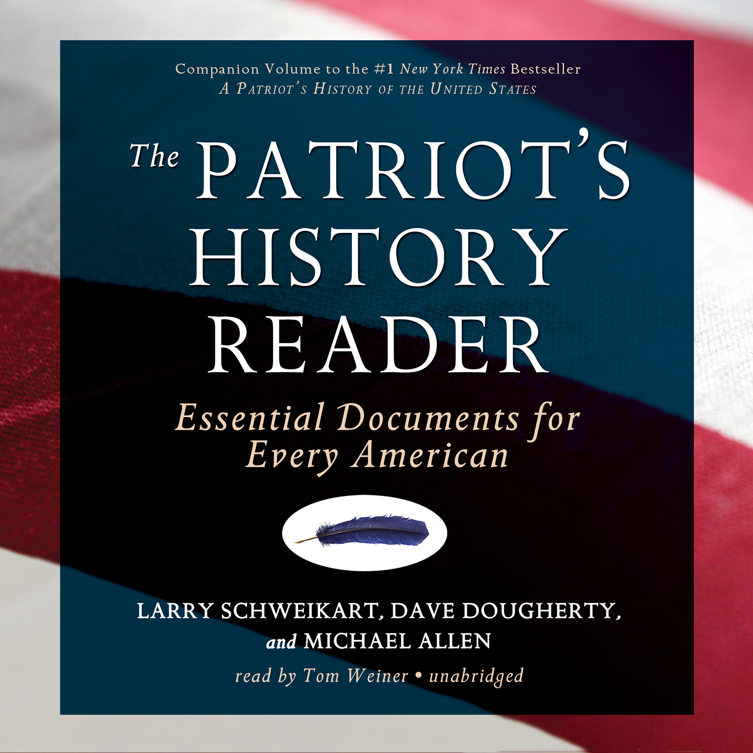 Printable The Patriot's History Reader: Essential Documents for Every American Audiobook Cover Art
