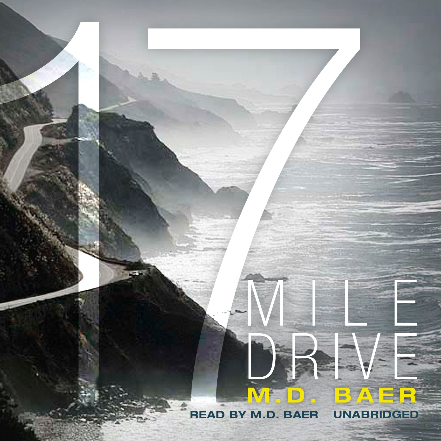 Printable 17 Mile Drive Audiobook Cover Art