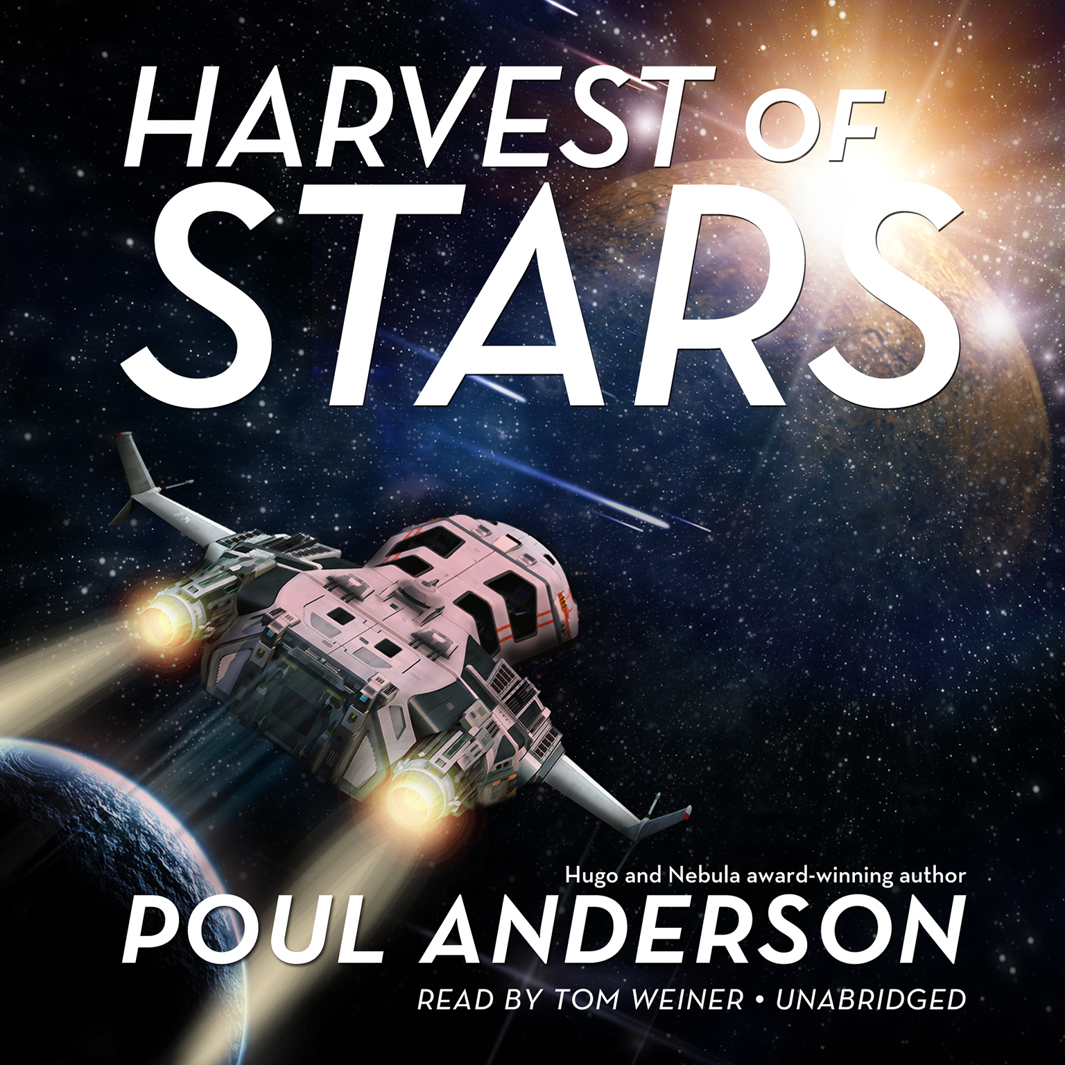 Printable Harvest of Stars Audiobook Cover Art