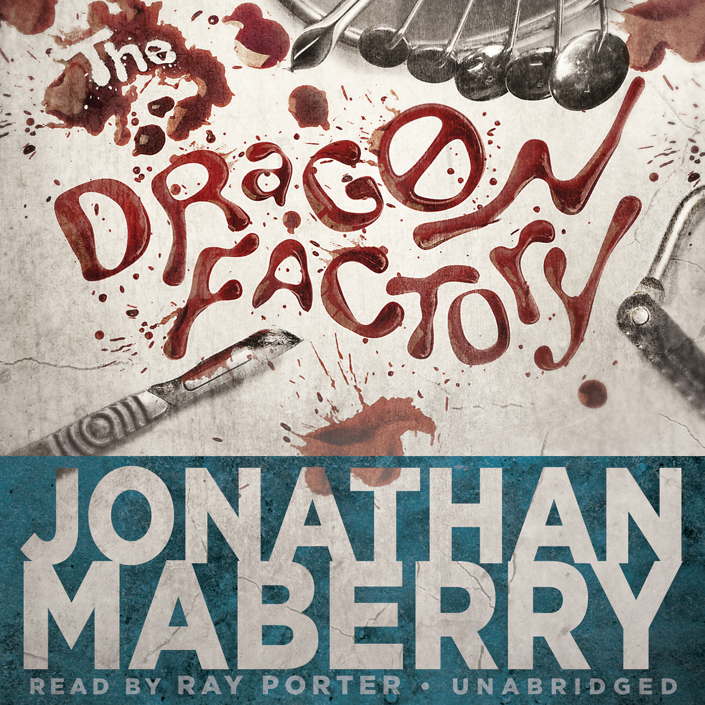 The Dragon Factory Audiobook, by Jonathan Maberry
