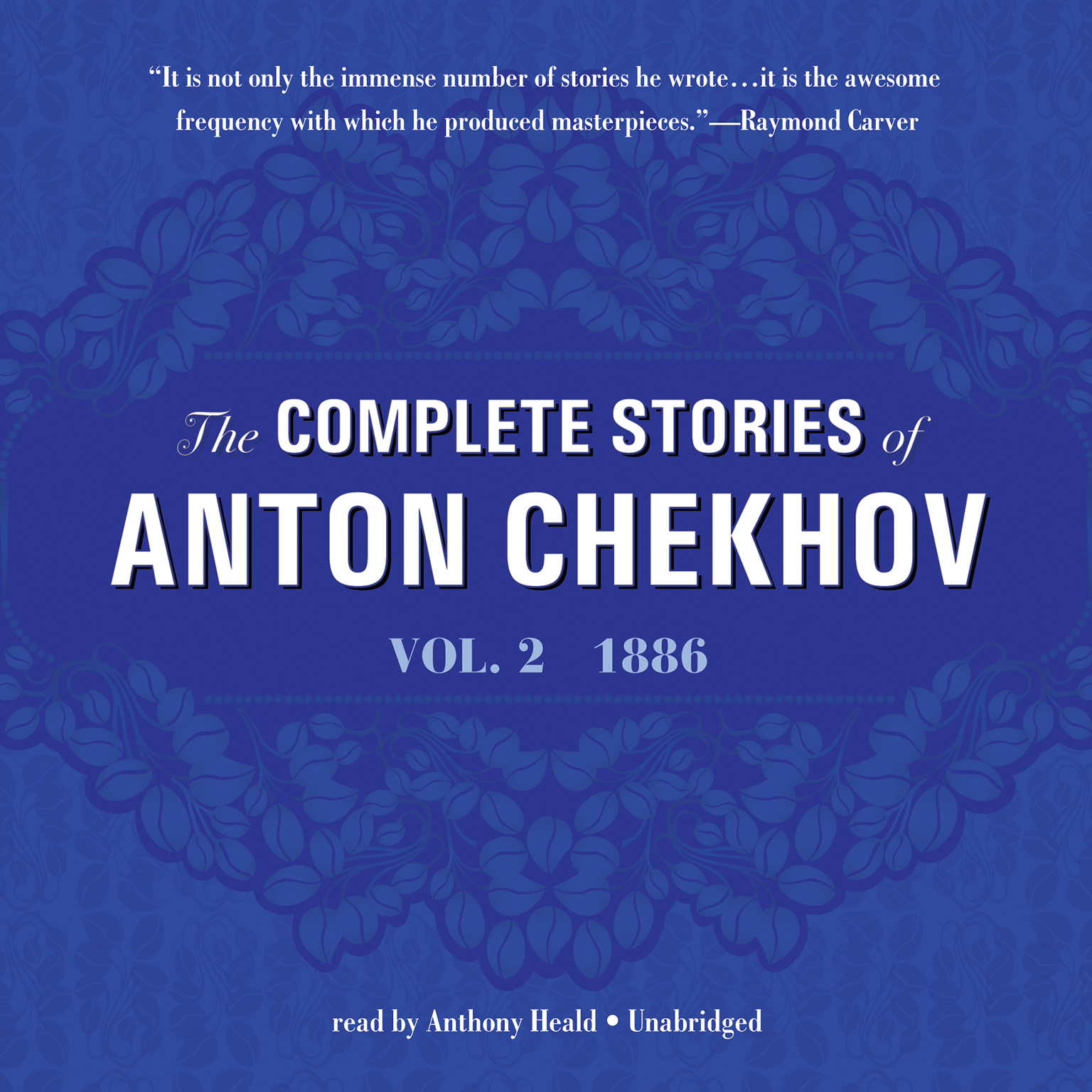 Printable The Complete Stories of Anton Chekhov, Vol. 2: 1886 Audiobook Cover Art