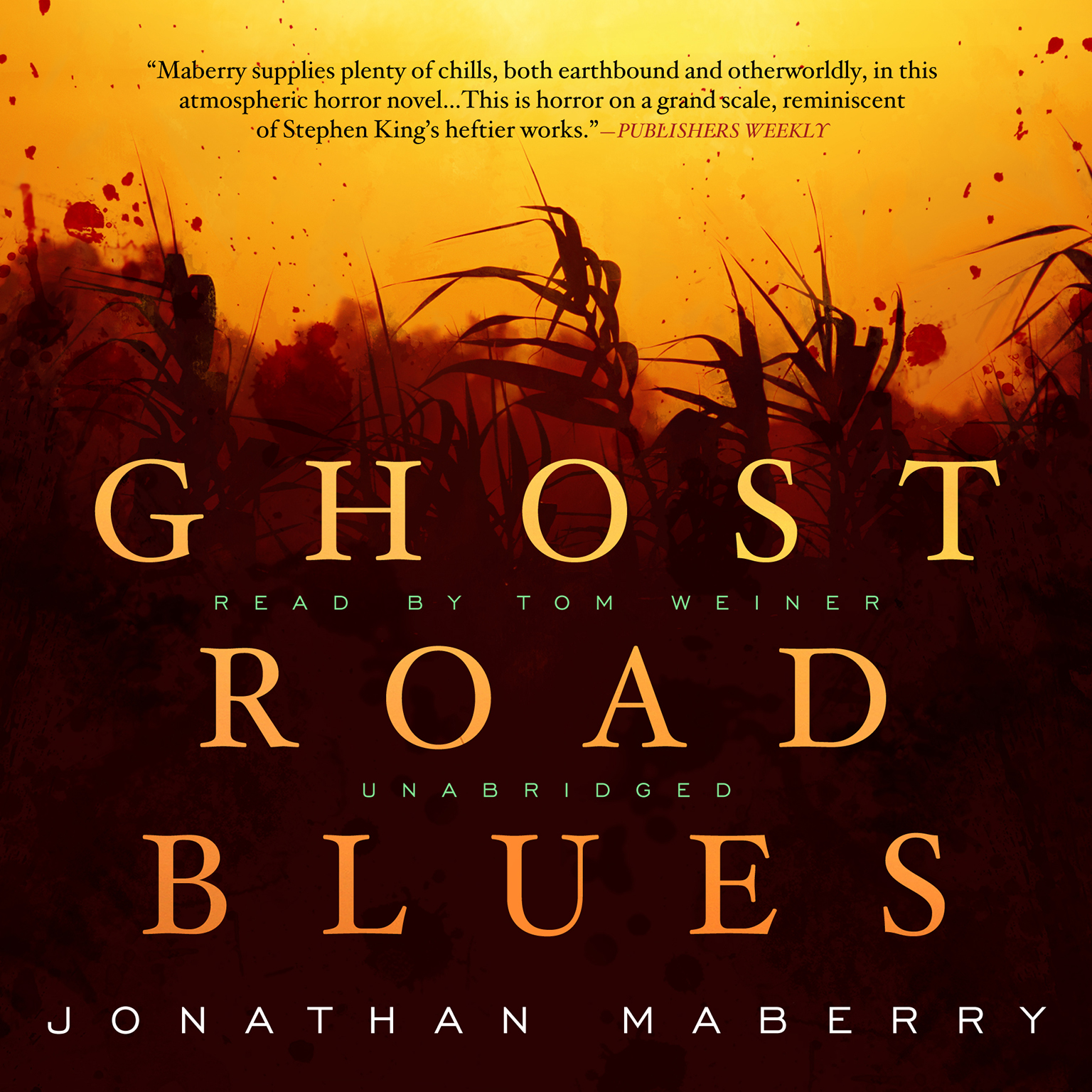 Printable Ghost Road Blues Audiobook Cover Art