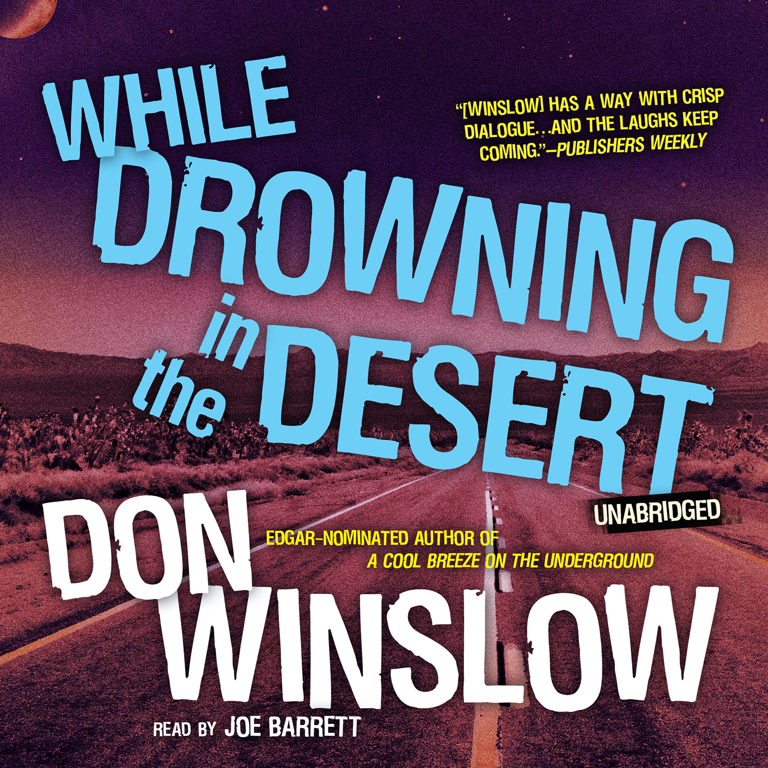 Printable While Drowning in the Desert Audiobook Cover Art