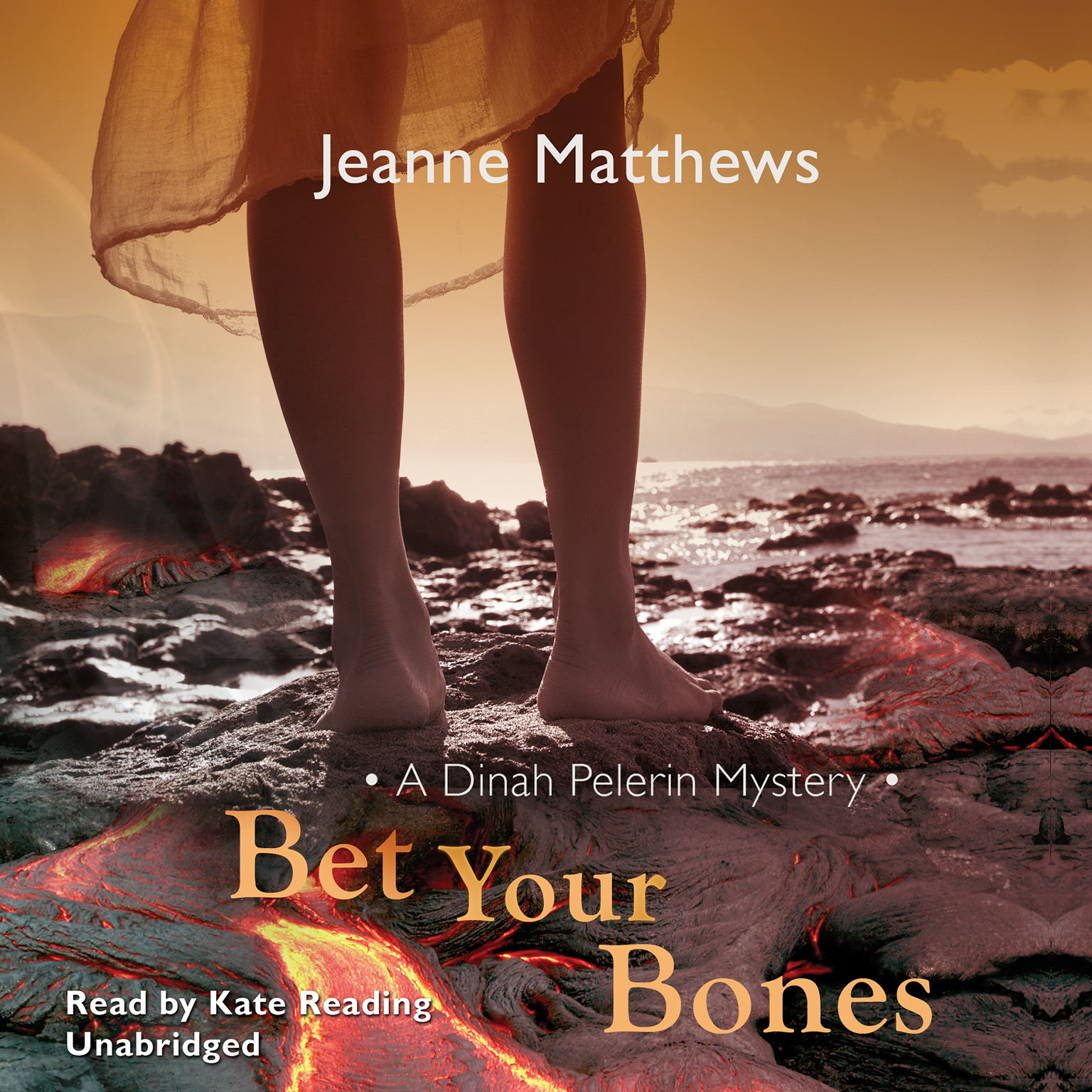 Printable Bet Your Bones: A Dinah Pelerin Mystery Audiobook Cover Art
