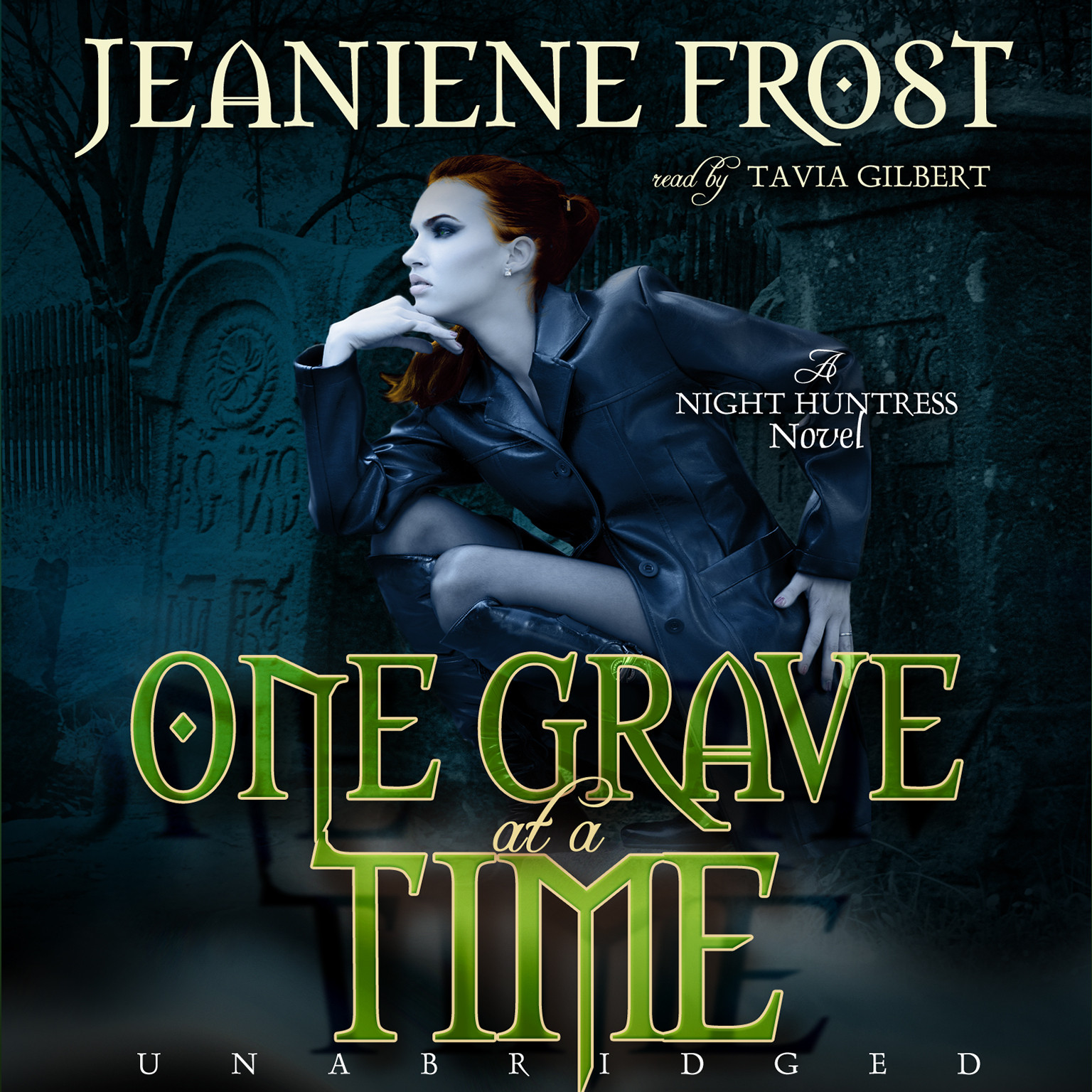 Printable One Grave at a Time: A Night Huntress Novel Audiobook Cover Art