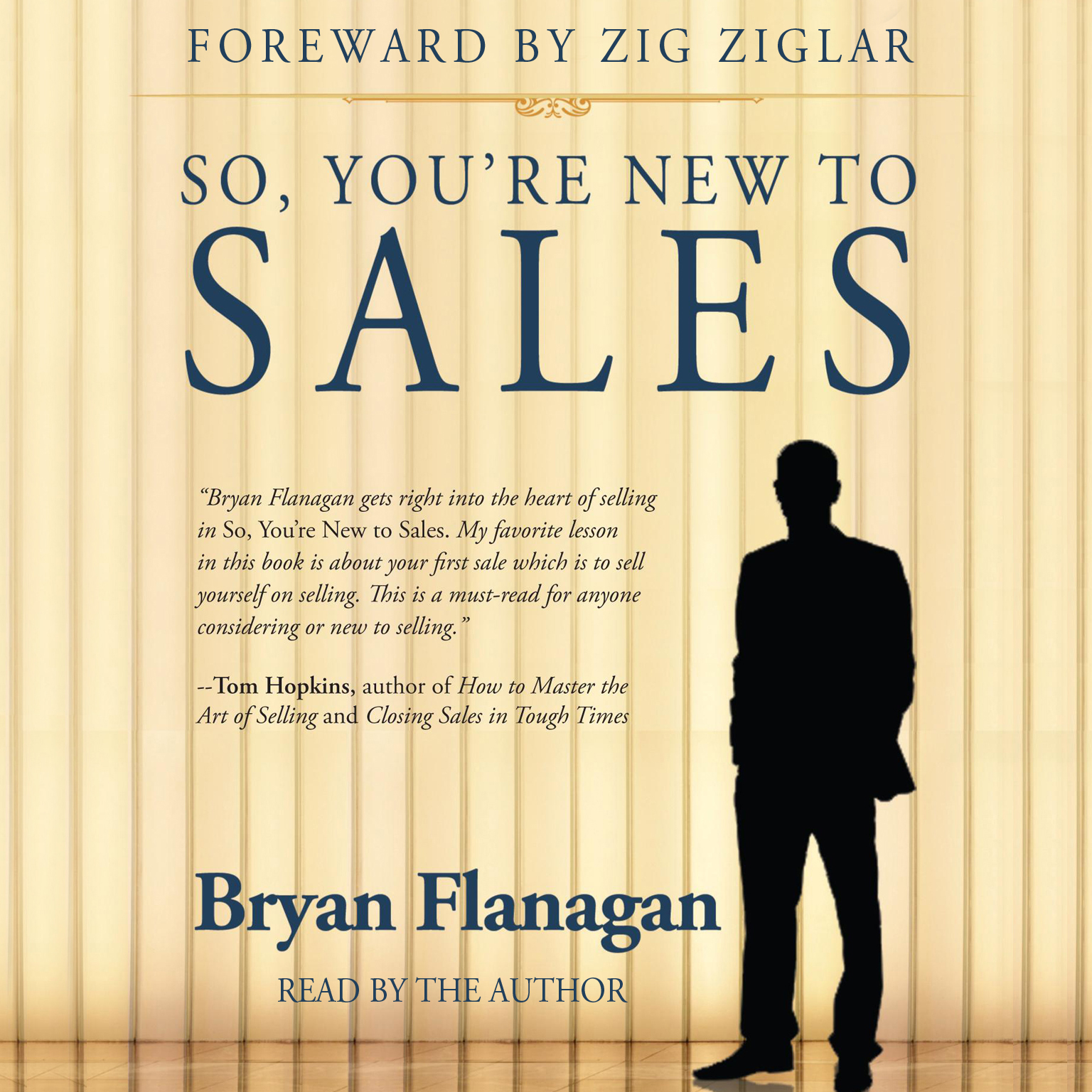Printable So, You're New to Sales Audiobook Cover Art
