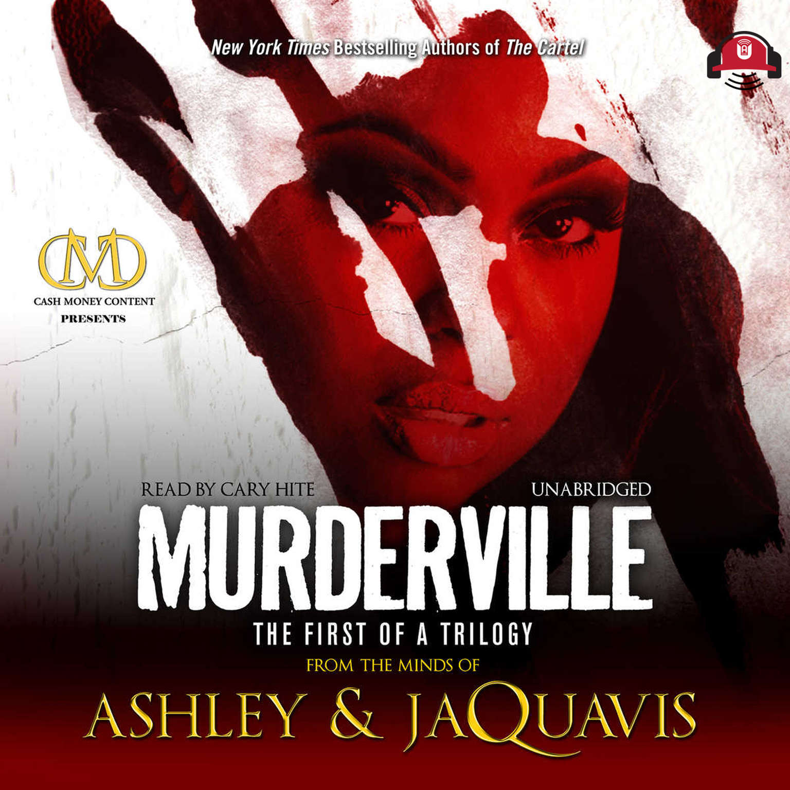 Printable Murderville: The First of a Trilogy Audiobook Cover Art