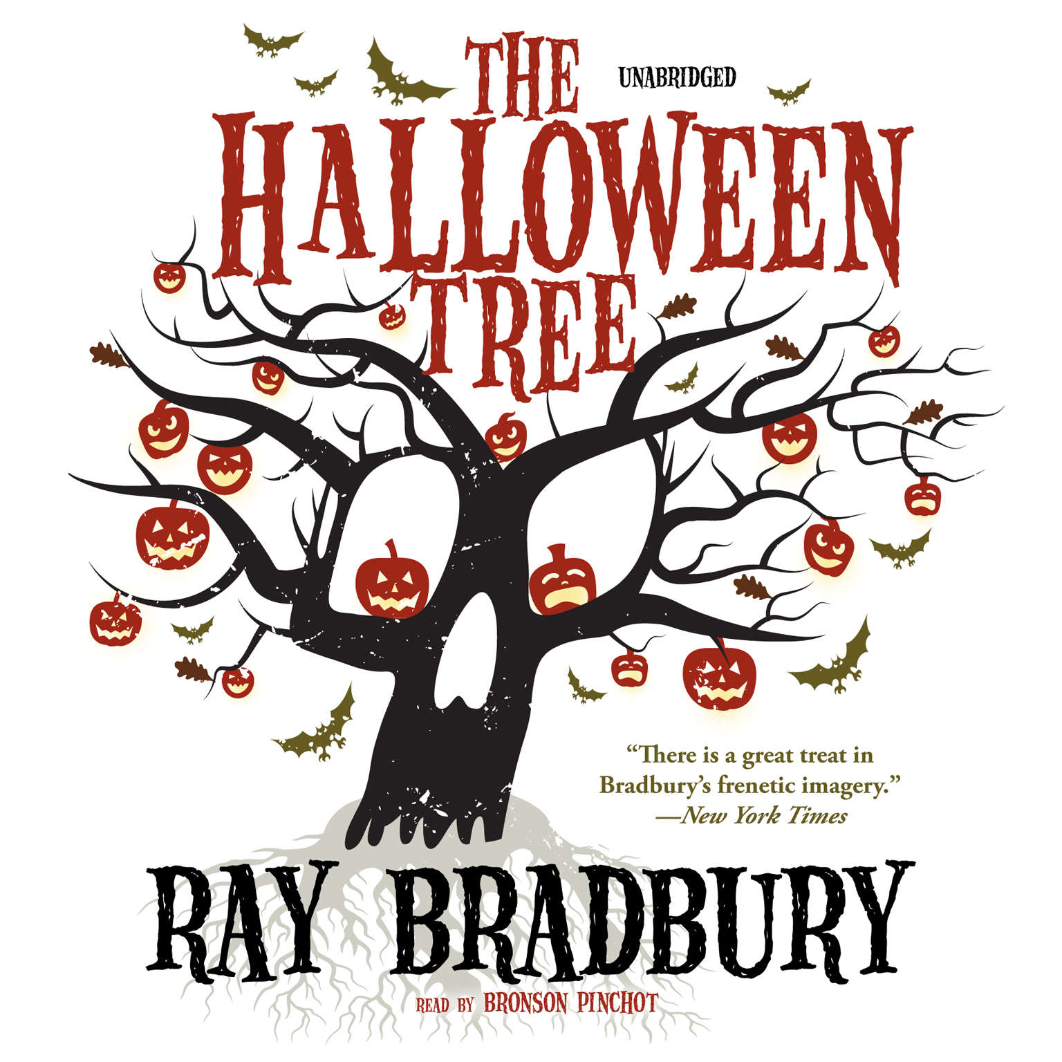 Printable The Halloween Tree Audiobook Cover Art