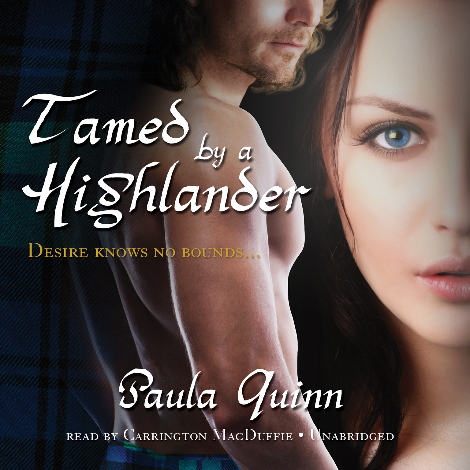 Printable Tamed by a Highlander Audiobook Cover Art