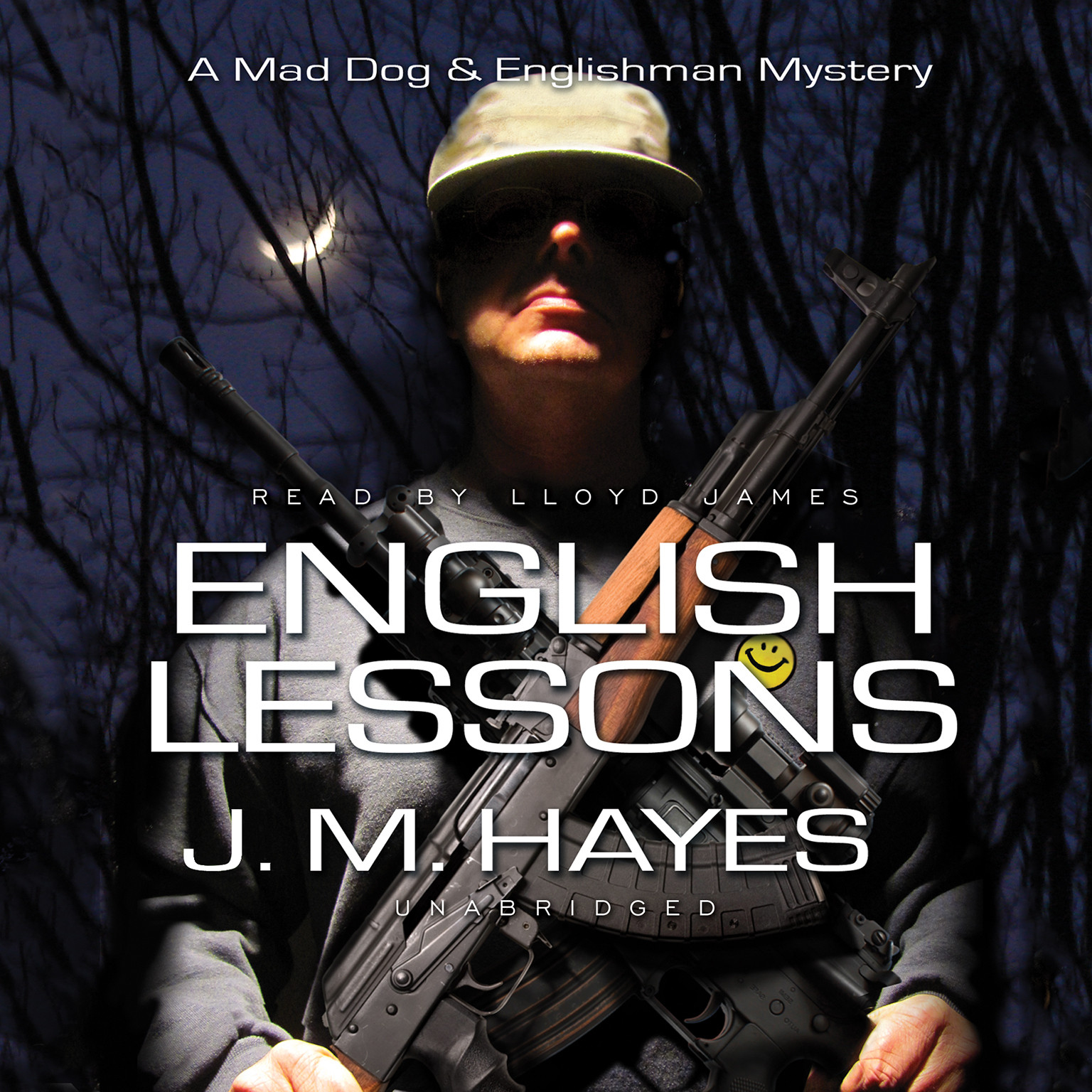 Printable English Lessons: A Mad Dog & Englishman Mystery Audiobook Cover Art