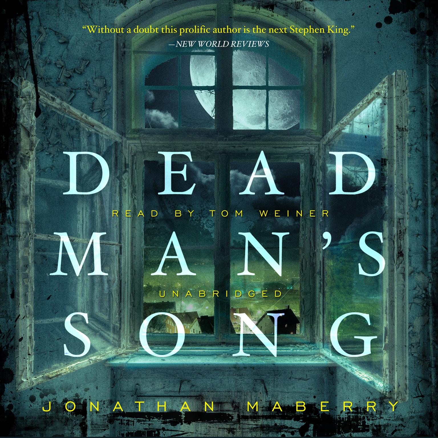 Printable Dead Man's Song Audiobook Cover Art