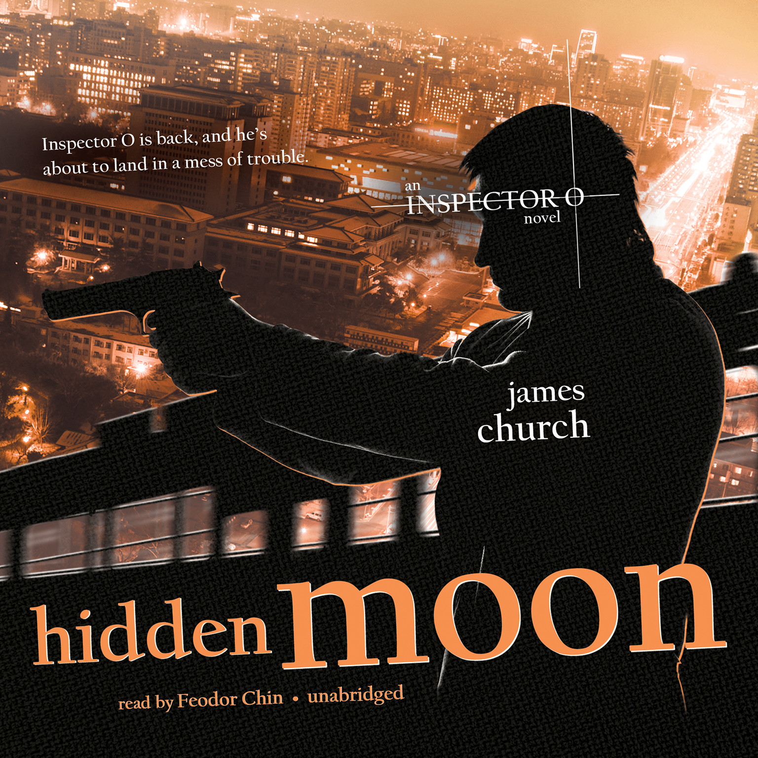 Printable Hidden Moon: An Inspector O Novel Audiobook Cover Art