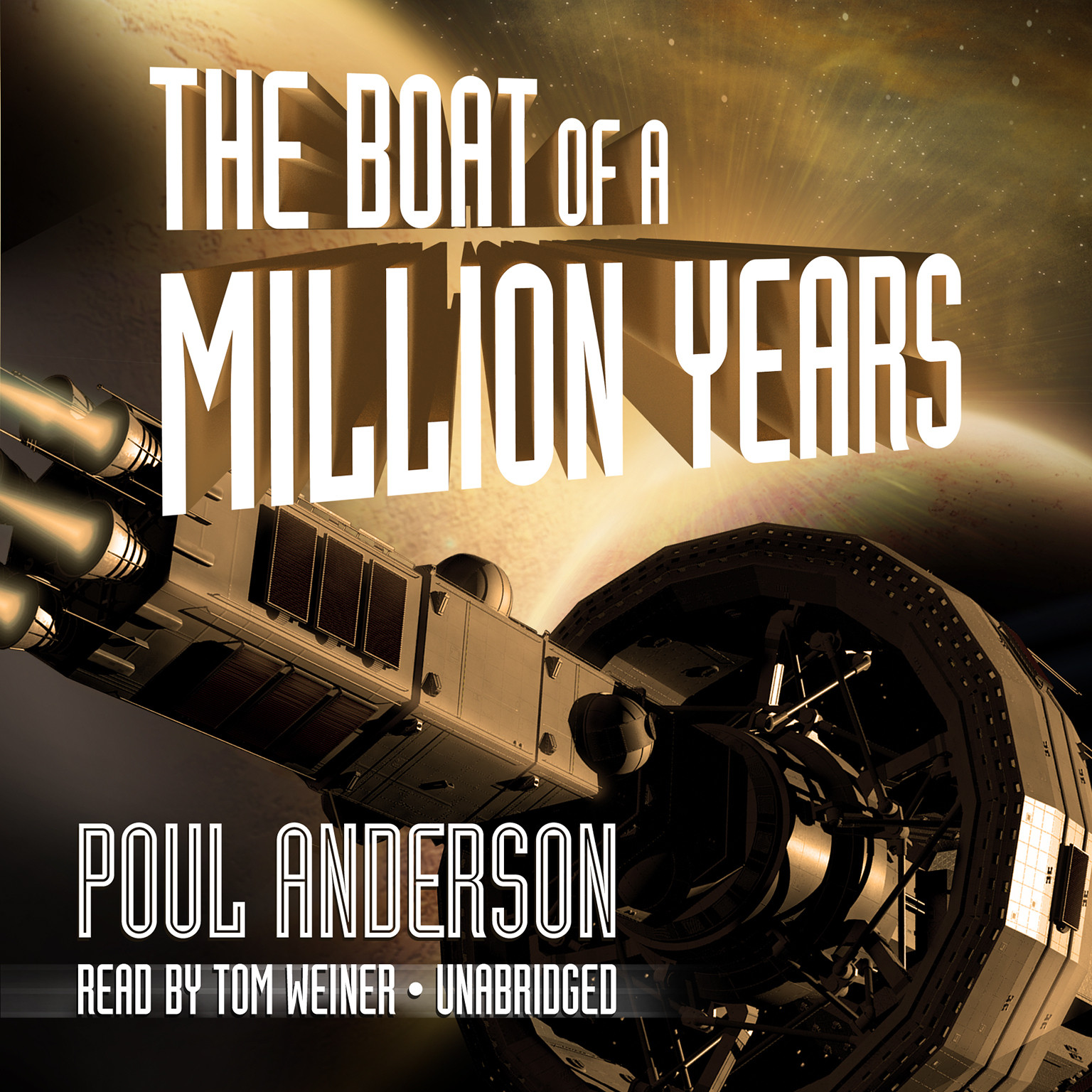 Printable The Boat of a Million Years Audiobook Cover Art