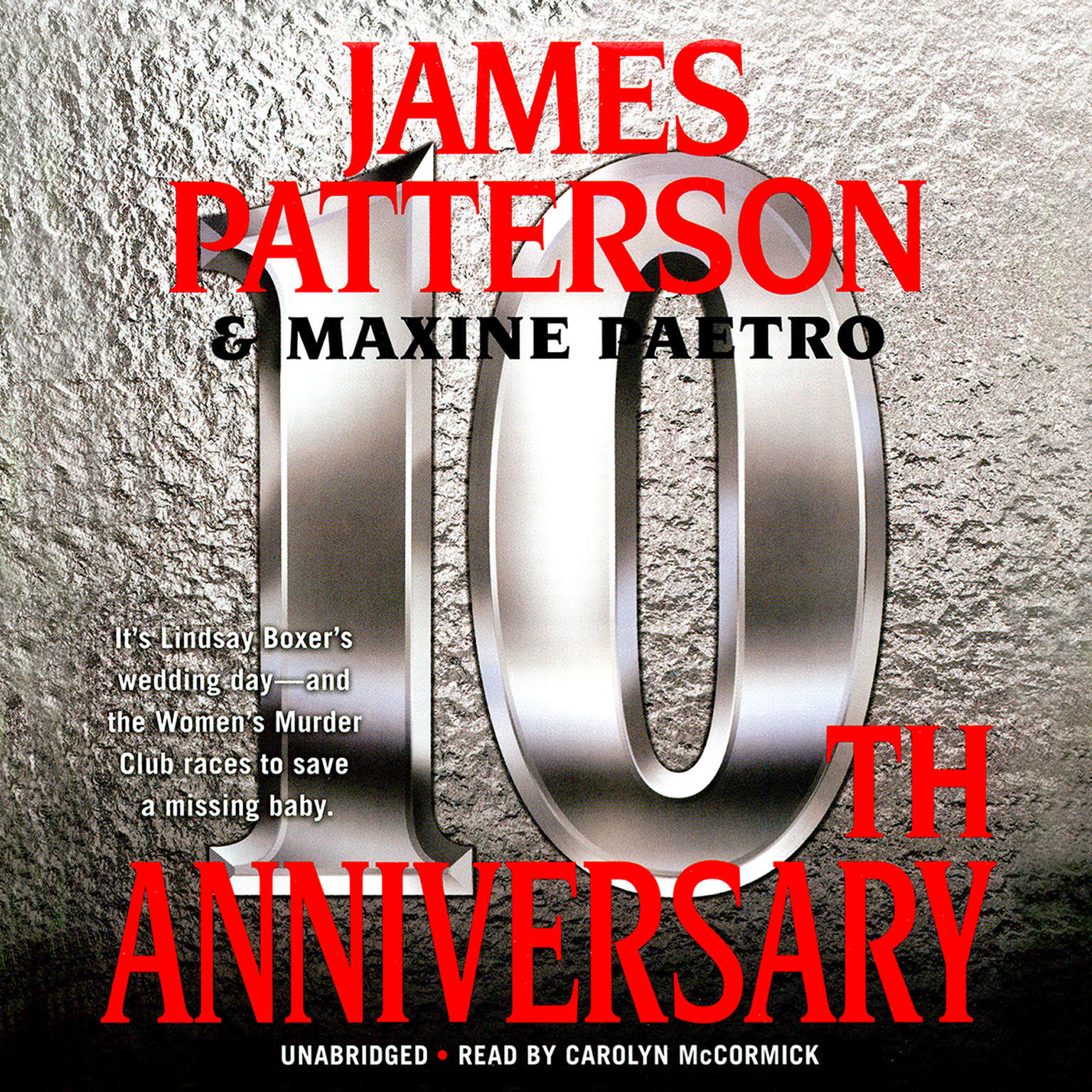 Printable 10th Anniversary Audiobook Cover Art