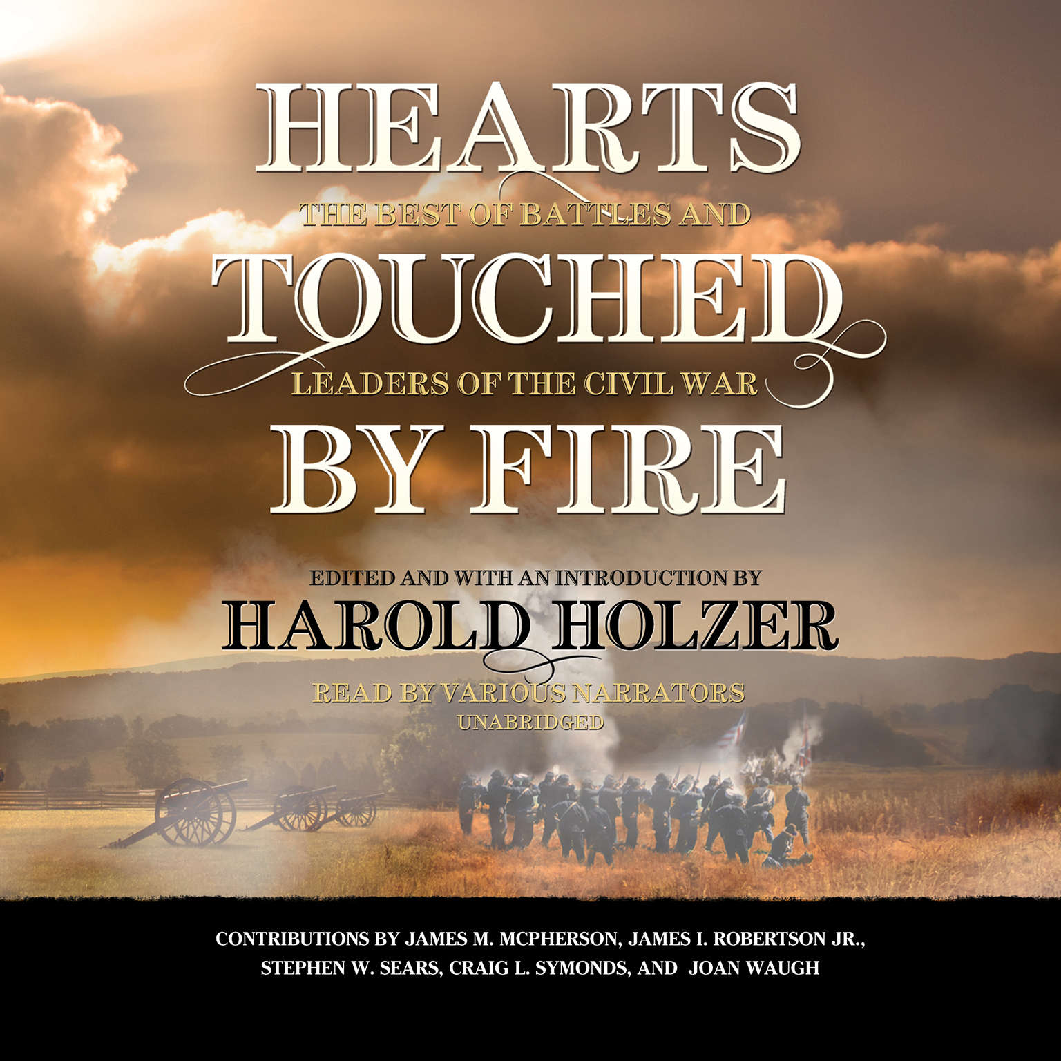 Printable Hearts Touched by Fire: The Best of Battles and Leaders of the Civil War Audiobook Cover Art