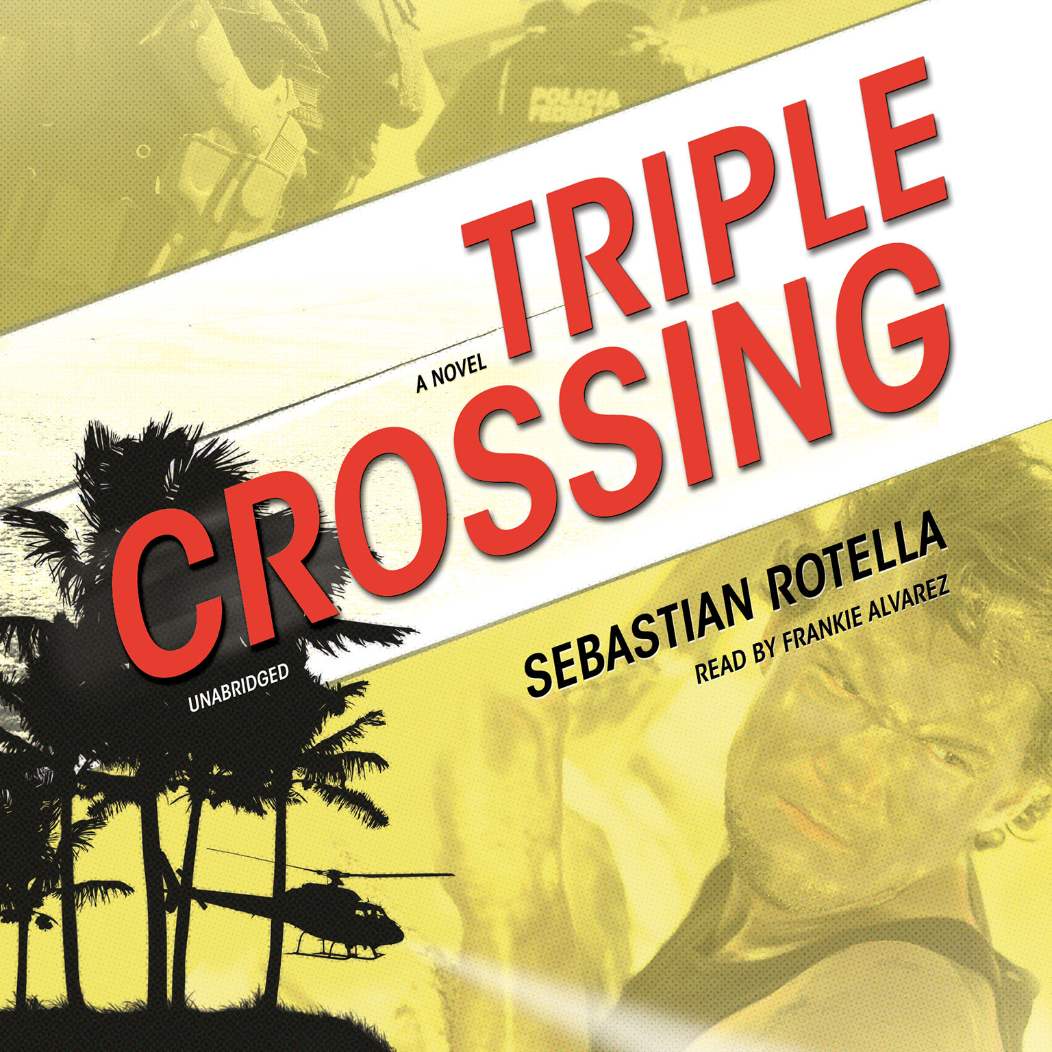Printable Triple Crossing: A Novel Audiobook Cover Art