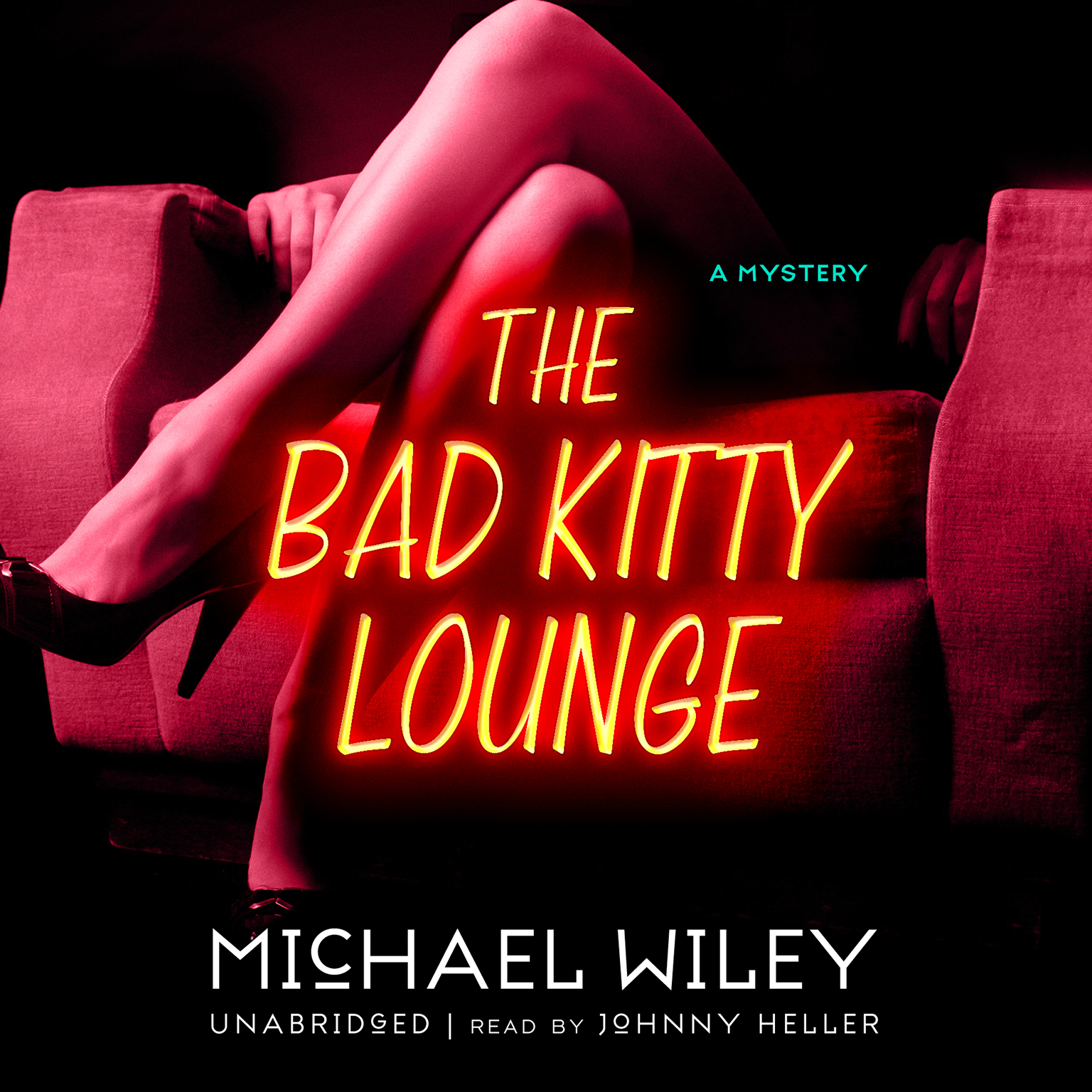 Printable The Bad Kitty Lounge Audiobook Cover Art