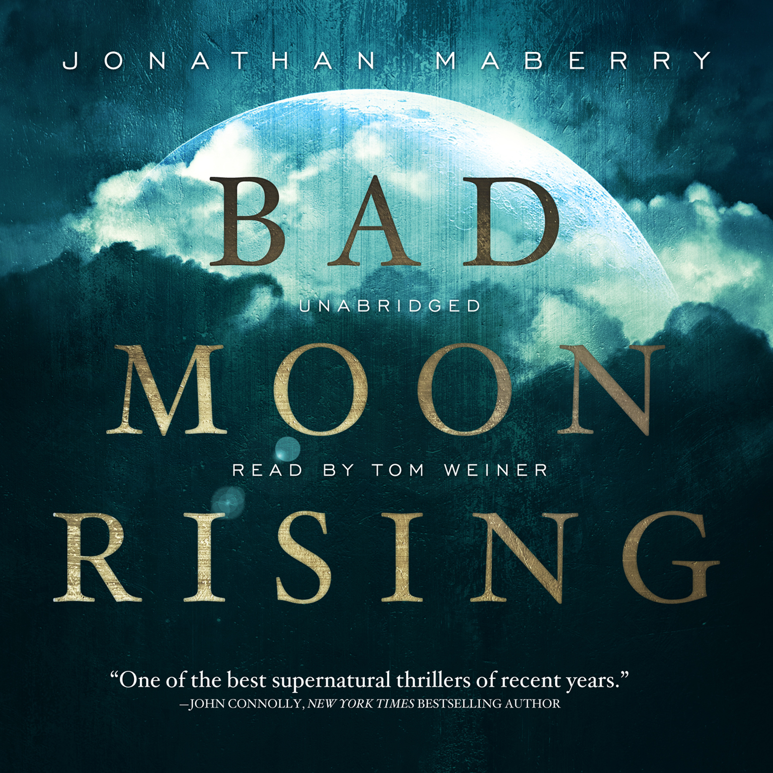 Printable Bad Moon Rising Audiobook Cover Art