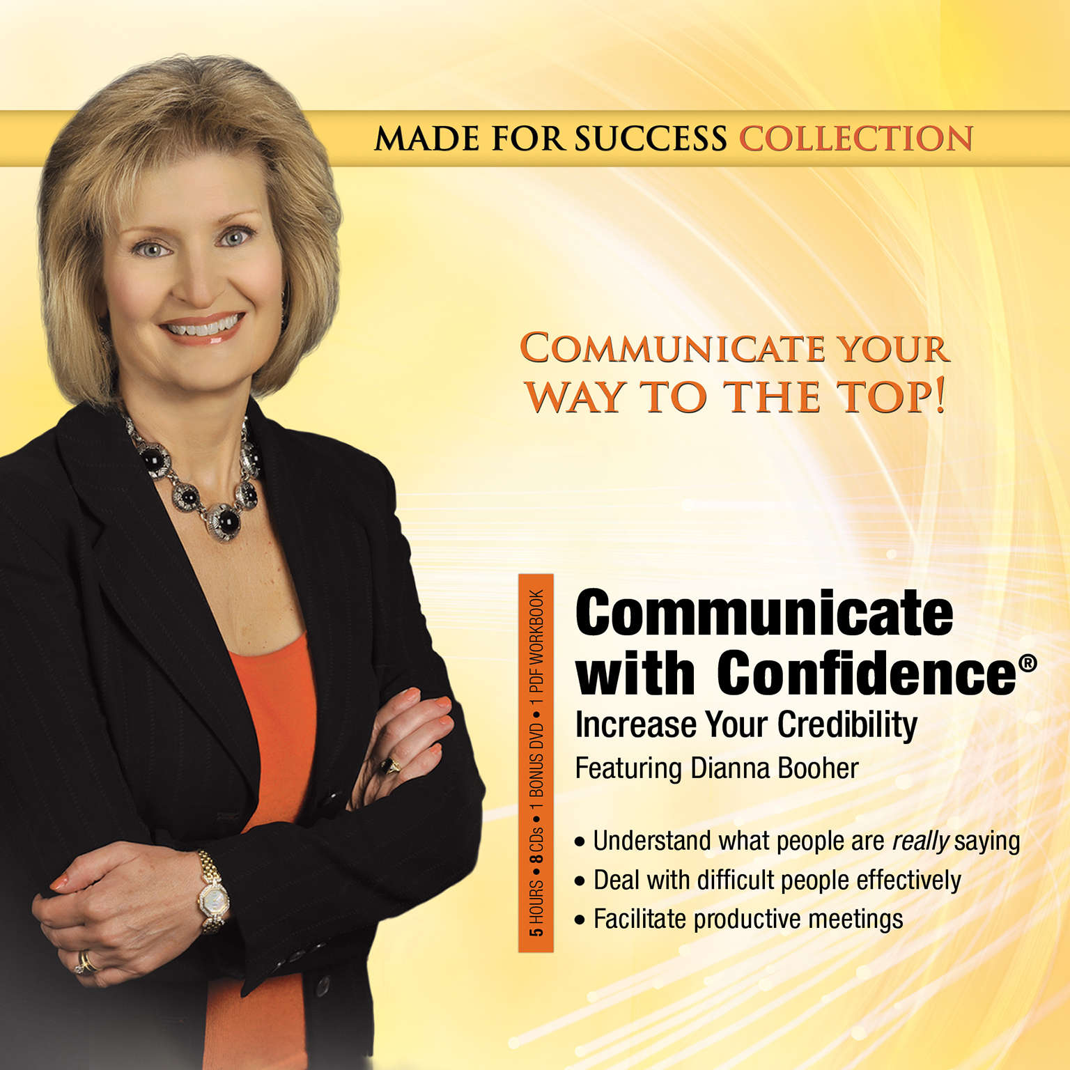 Printable Communicate with Confidence: Increase Your Credibility Audiobook Cover Art