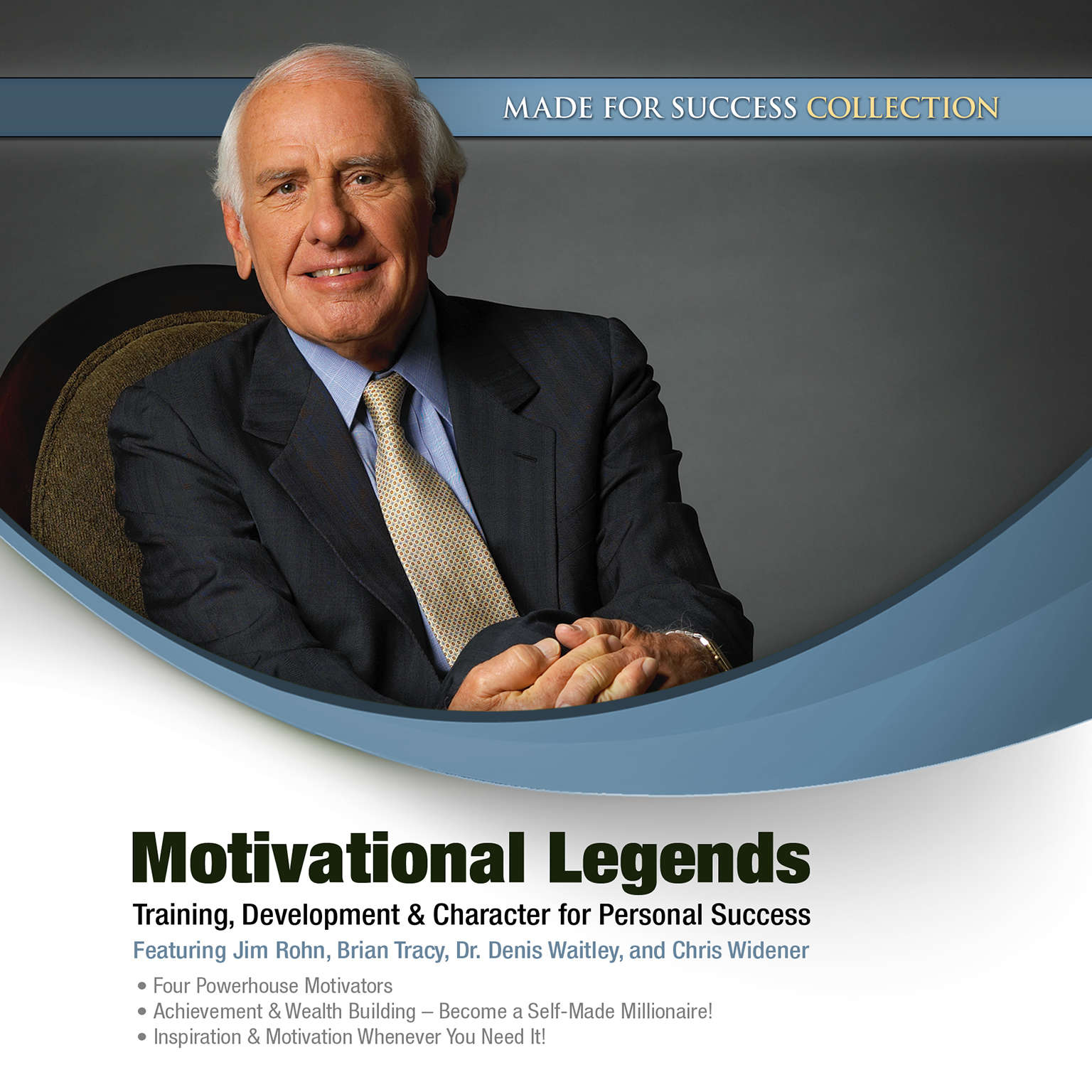 Printable Motivational Legends: Training, Development & Character for Personal Success Audiobook Cover Art