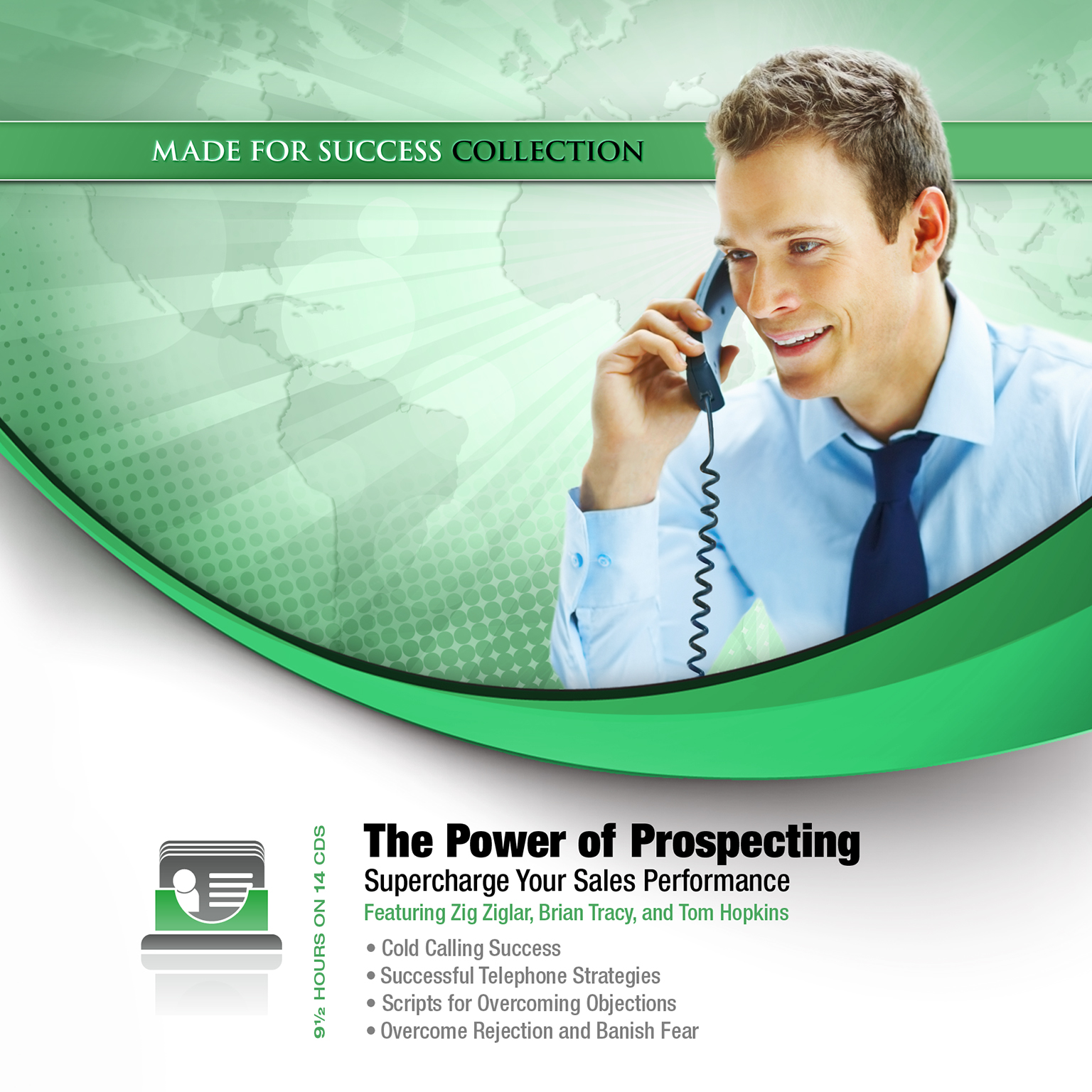 Printable The Power of Prospecting: Supercharge Your Sales Performance Audiobook Cover Art