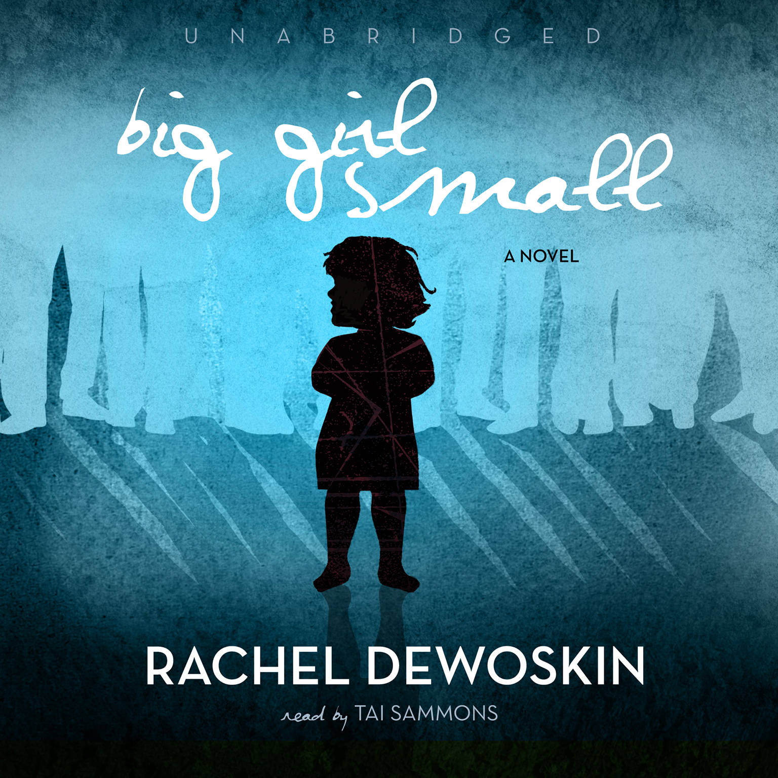 Printable Big Girl Small Audiobook Cover Art