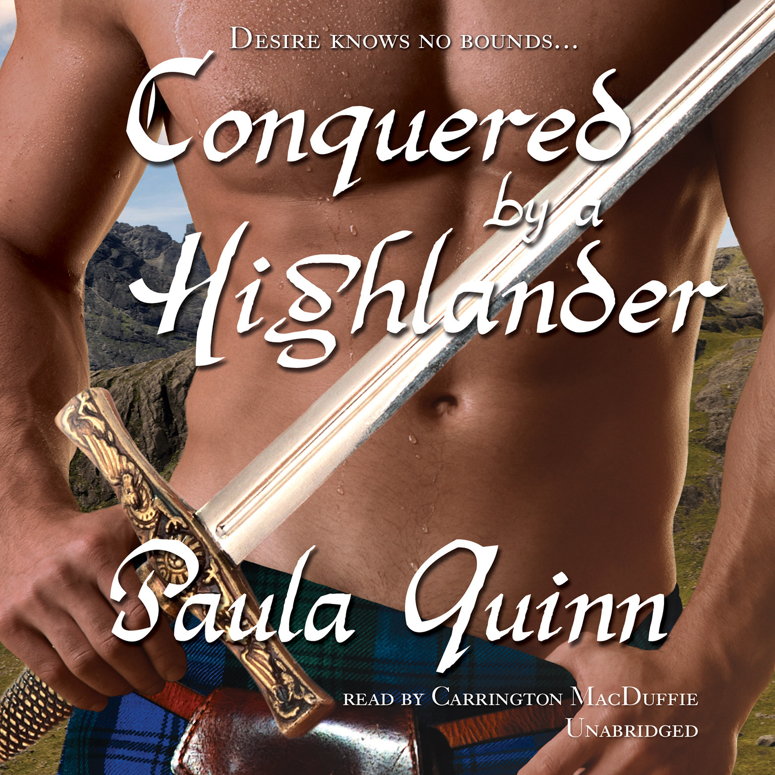 Printable Conquered by a Highlander Audiobook Cover Art