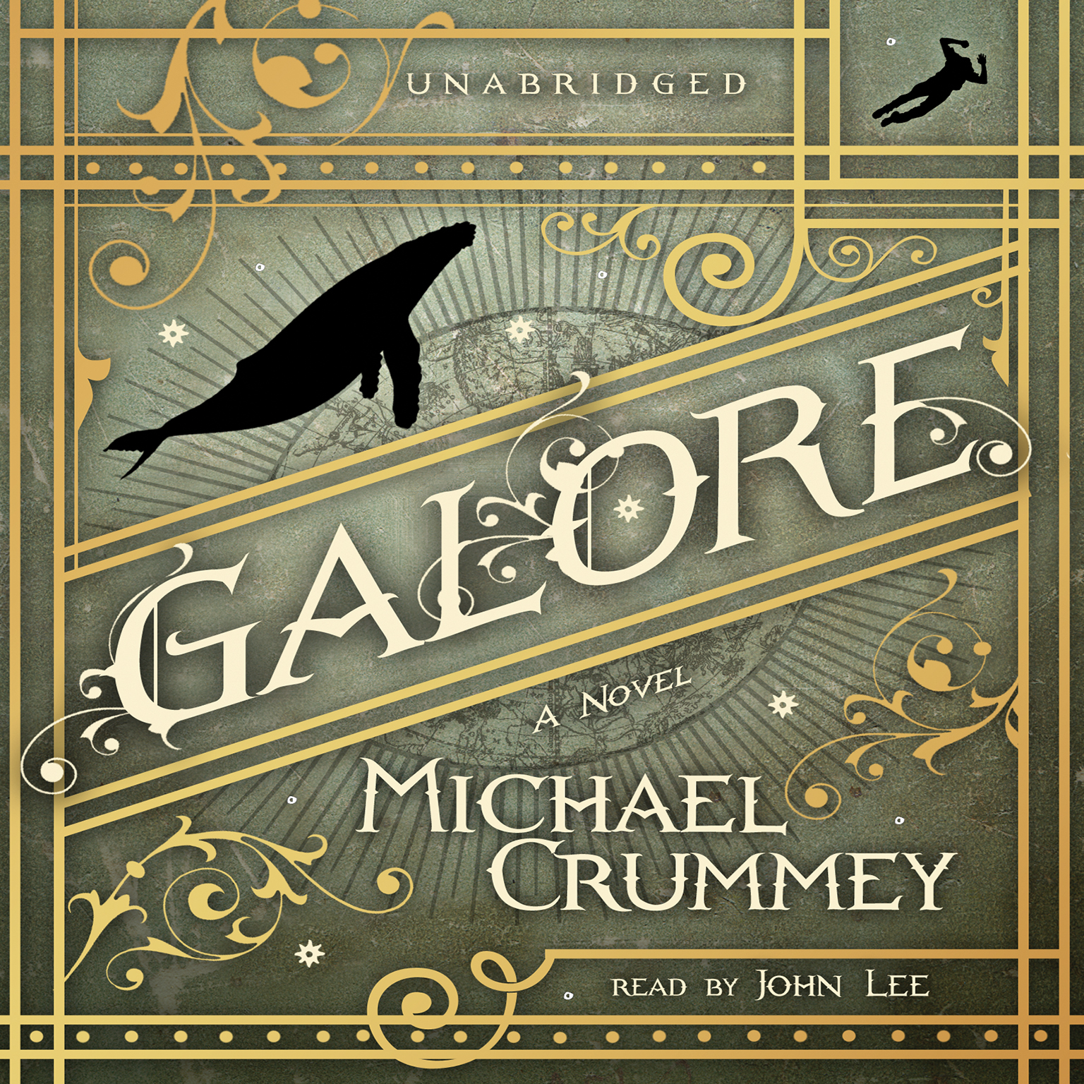 Printable Galore: A Novel Audiobook Cover Art