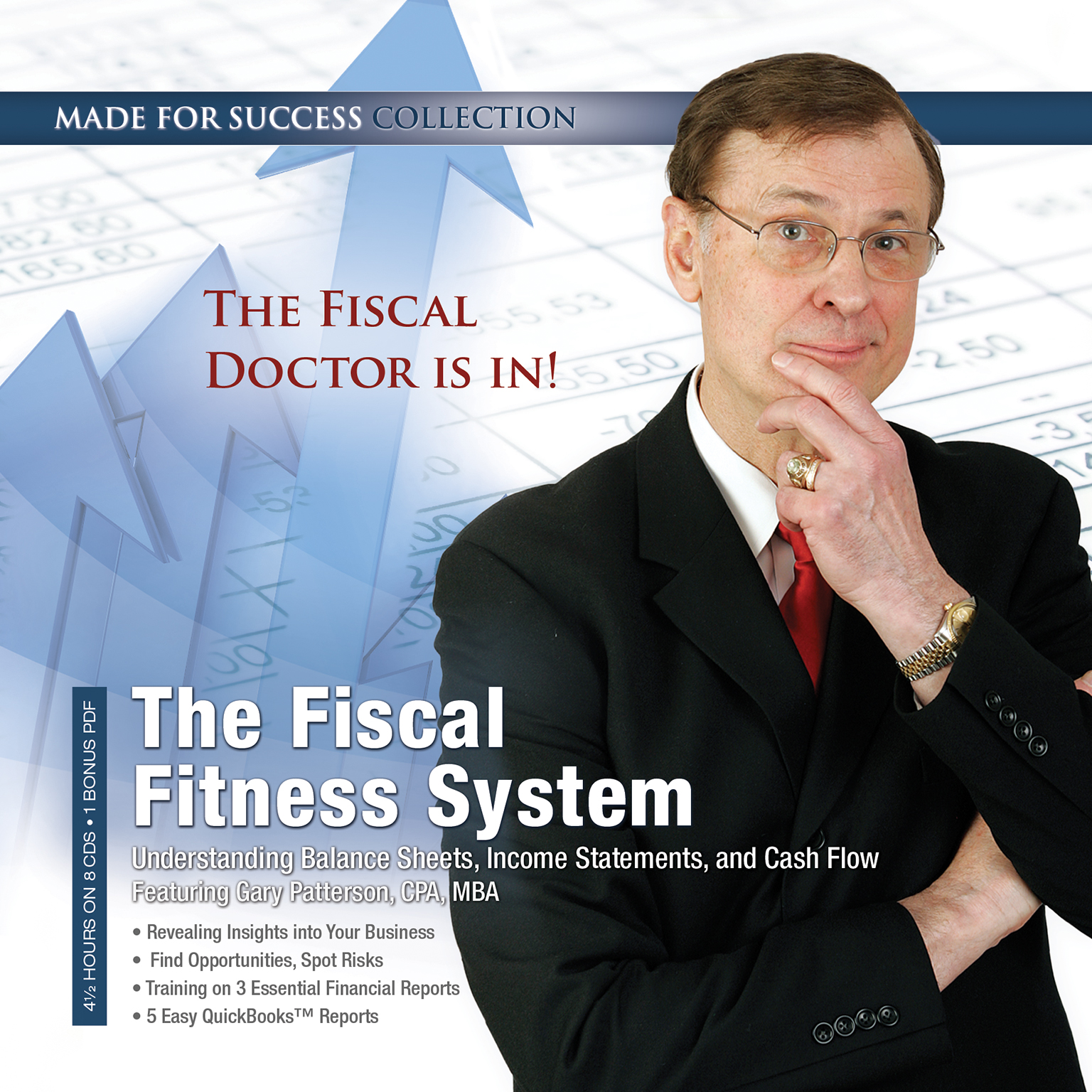 Printable The Fiscal Fitness System: Understanding Balance Sheets, Income Statements, and Cash Flow Audiobook Cover Art