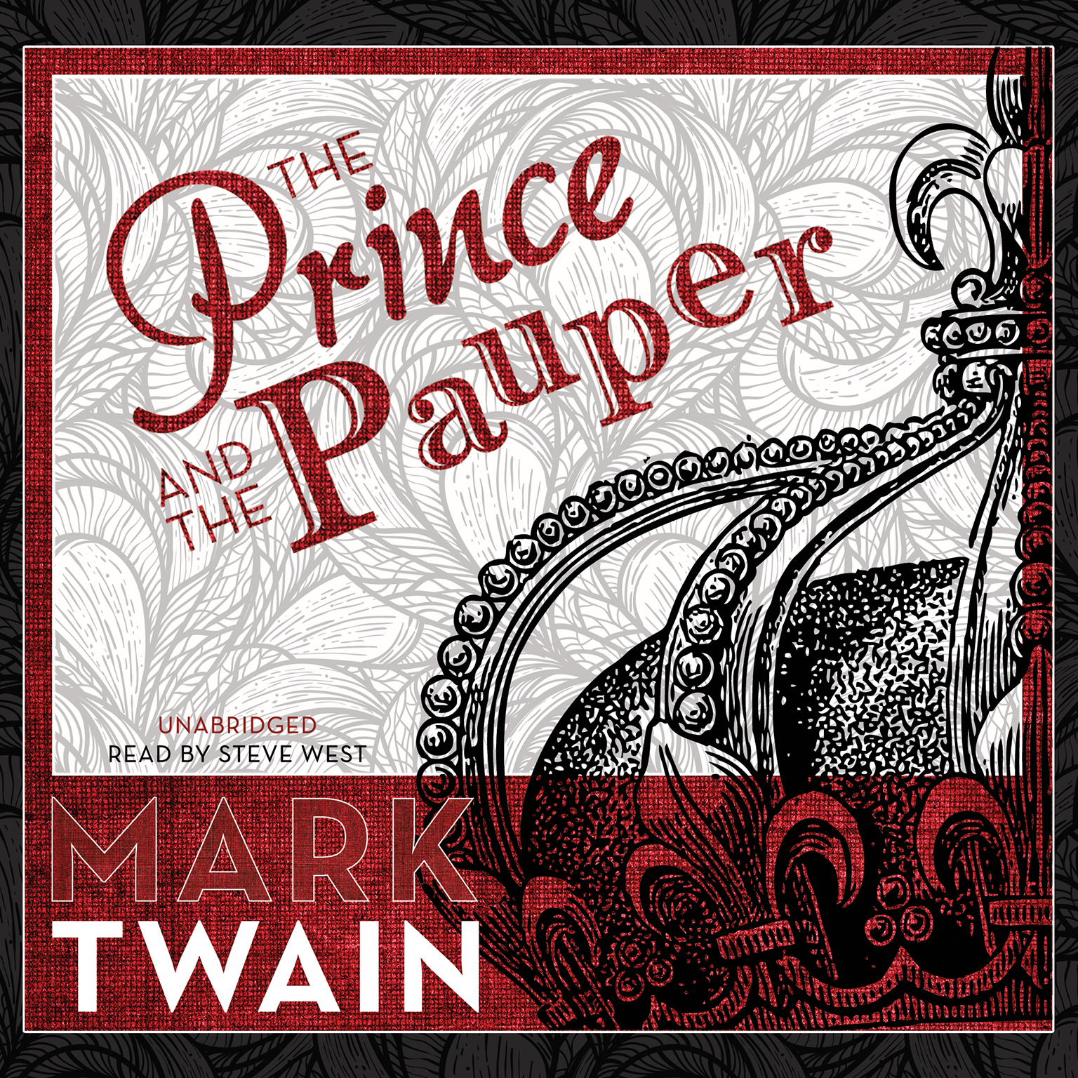 Printable The Prince and the Pauper Audiobook Cover Art