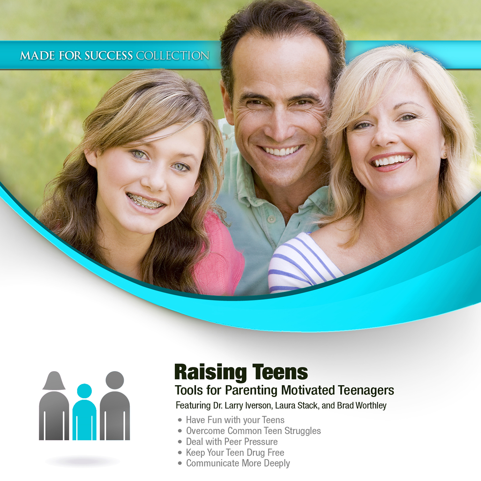 Printable Raising Teens: Tools for Parenting Motivated Teenagers Audiobook Cover Art
