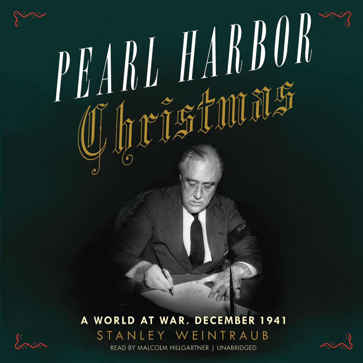 Printable Pearl Harbor Christmas: A World at War, December 1941 Audiobook Cover Art