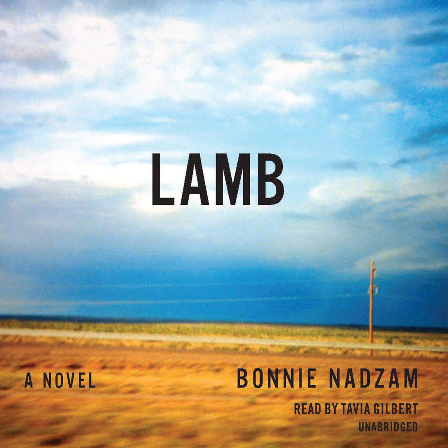 Printable Lamb: A Novel Audiobook Cover Art