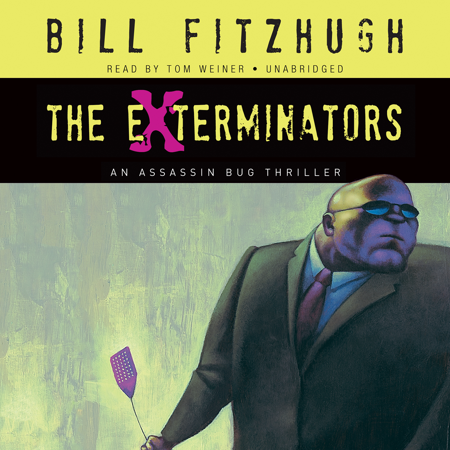 Printable The Exterminators: An Assassin Bug Thriller Audiobook Cover Art