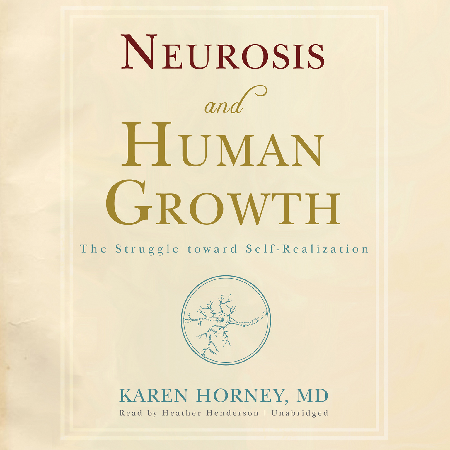 Printable Neurosis and Human Growth: The Struggle toward Self-Realization Audiobook Cover Art
